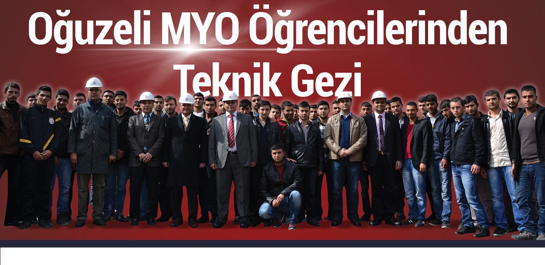 Oğuzeli MYO Öğrencilerinden Teknik Gezi_web