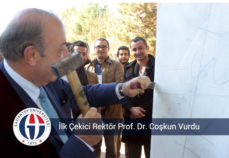 İlk Çekici Rektör Prof. Dr