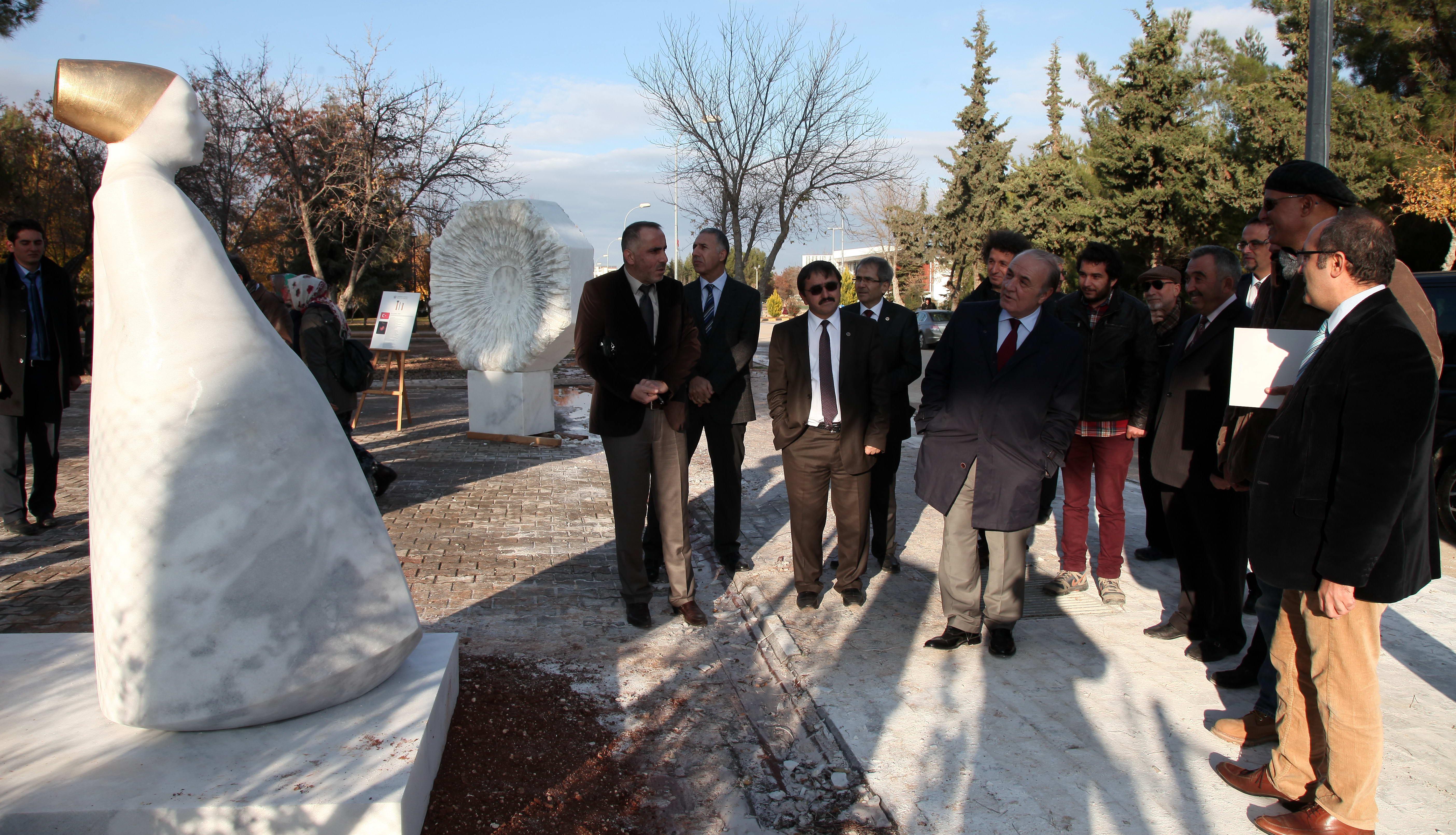 1.Uluslararası Taş Heykel Sempozyumunun Kapanış Töreni -  (11)