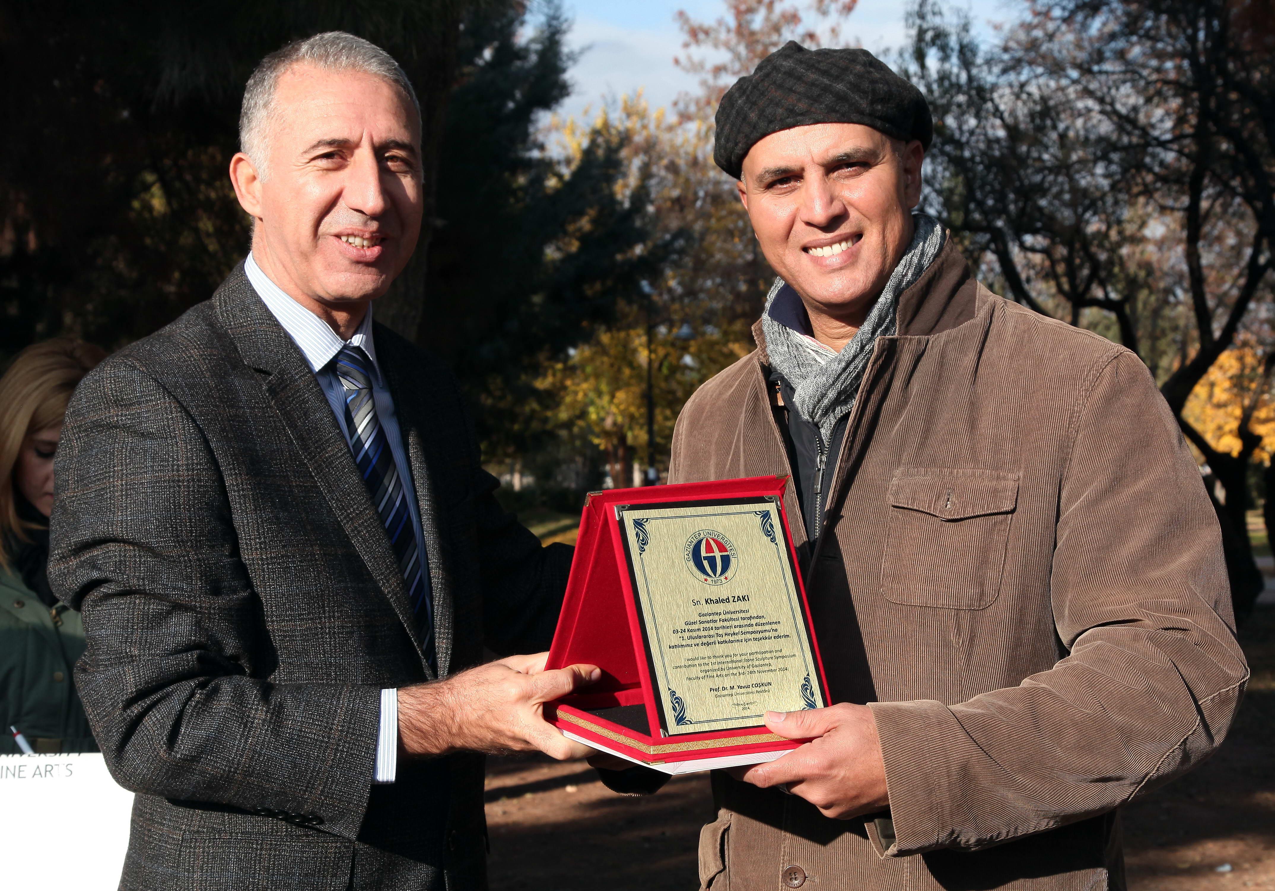 1.Uluslararası Taş Heykel Sempozyumunun Kapanış Töreni -  (4)