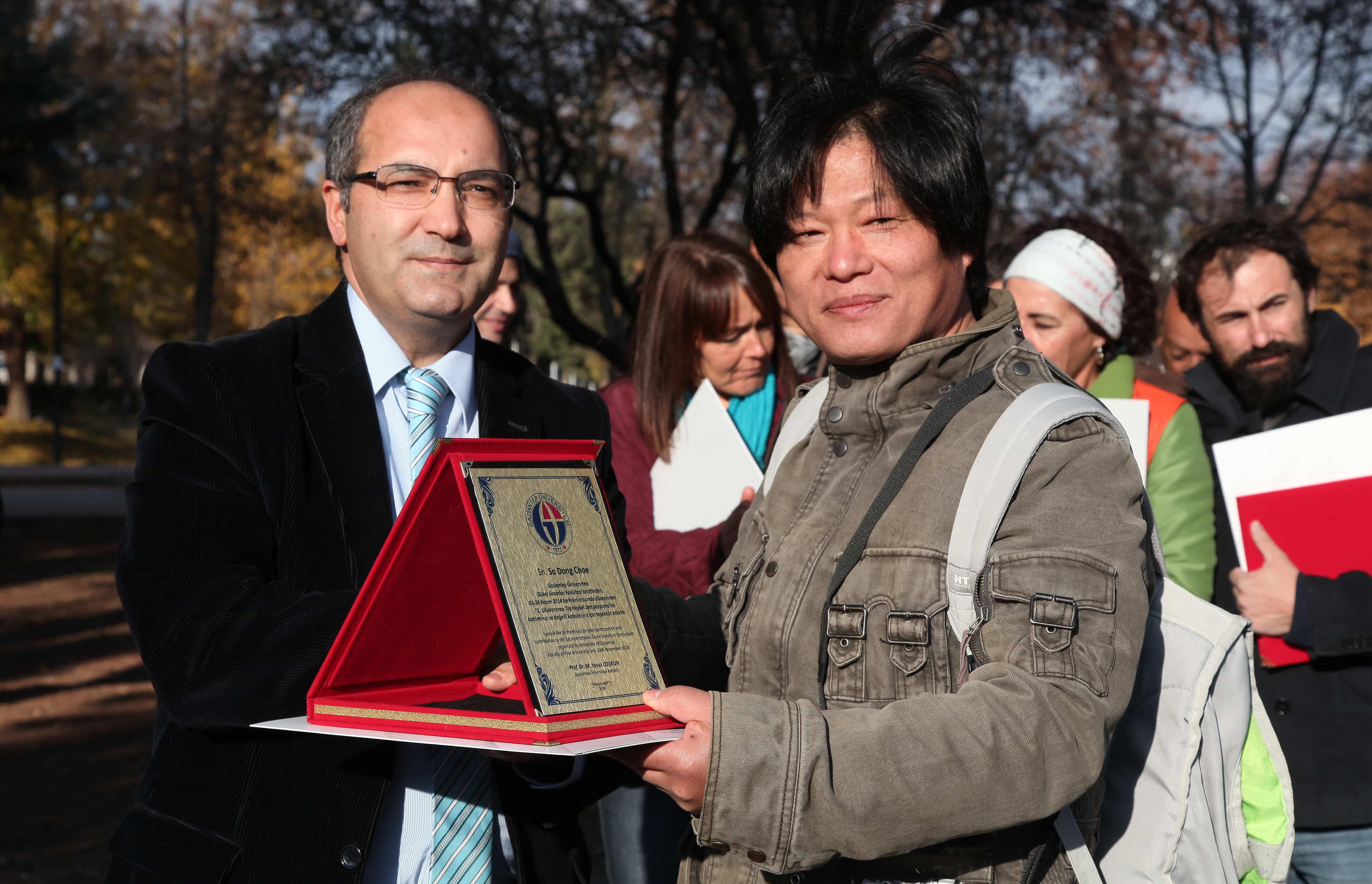 1.Uluslararası Taş Heykel Sempozyumunun Kapanış Töreni -  (6)