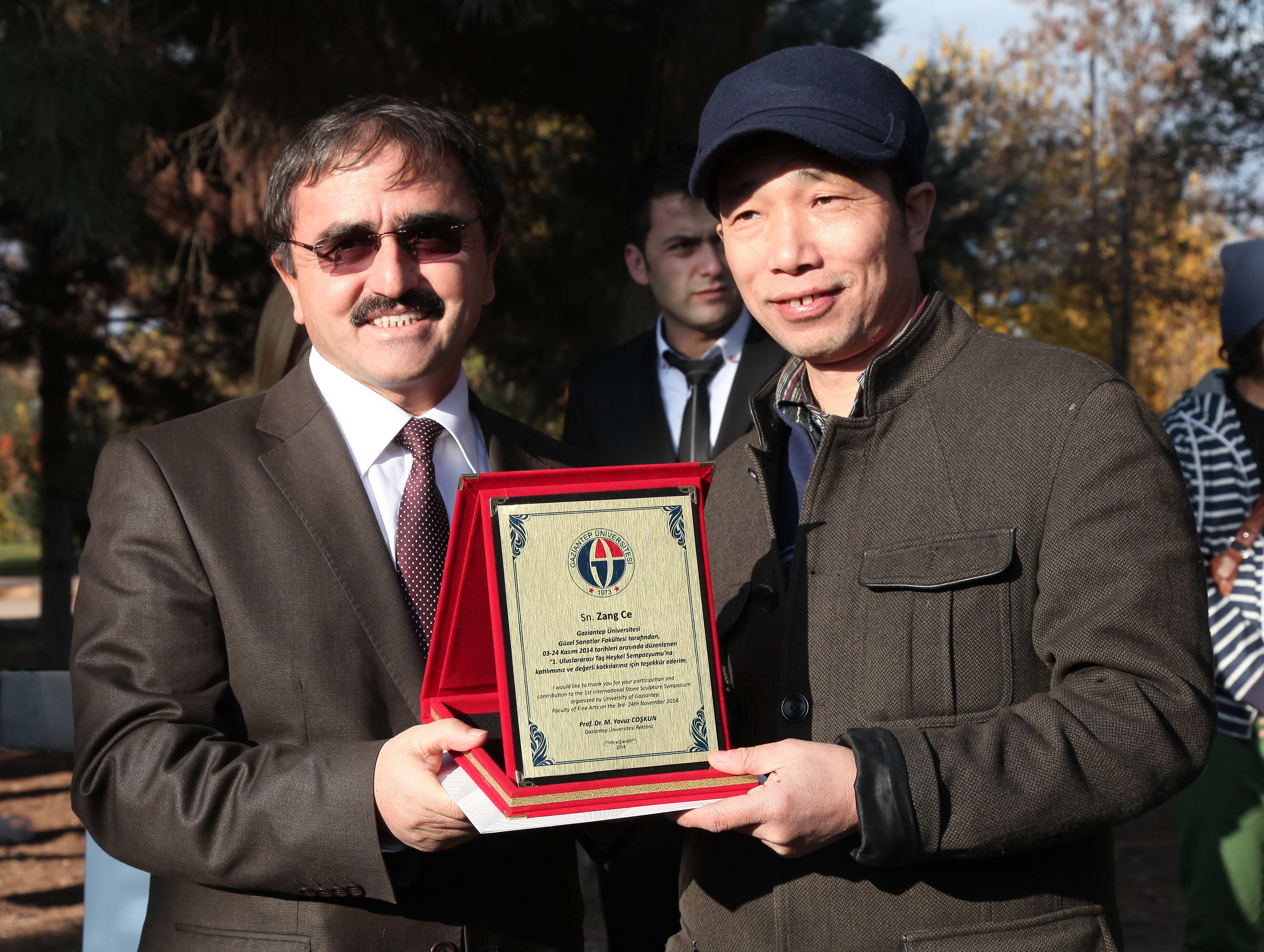 1.Uluslararası Taş Heykel Sempozyumunun Kapanış Töreni -  (7)