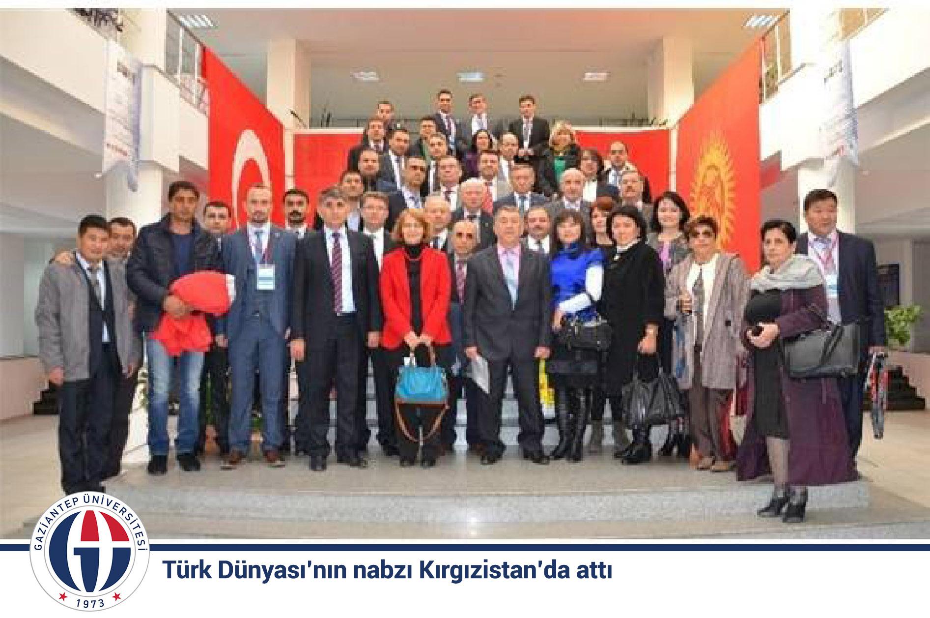Türk Dünyasının nabzı Kırgızistanda attı