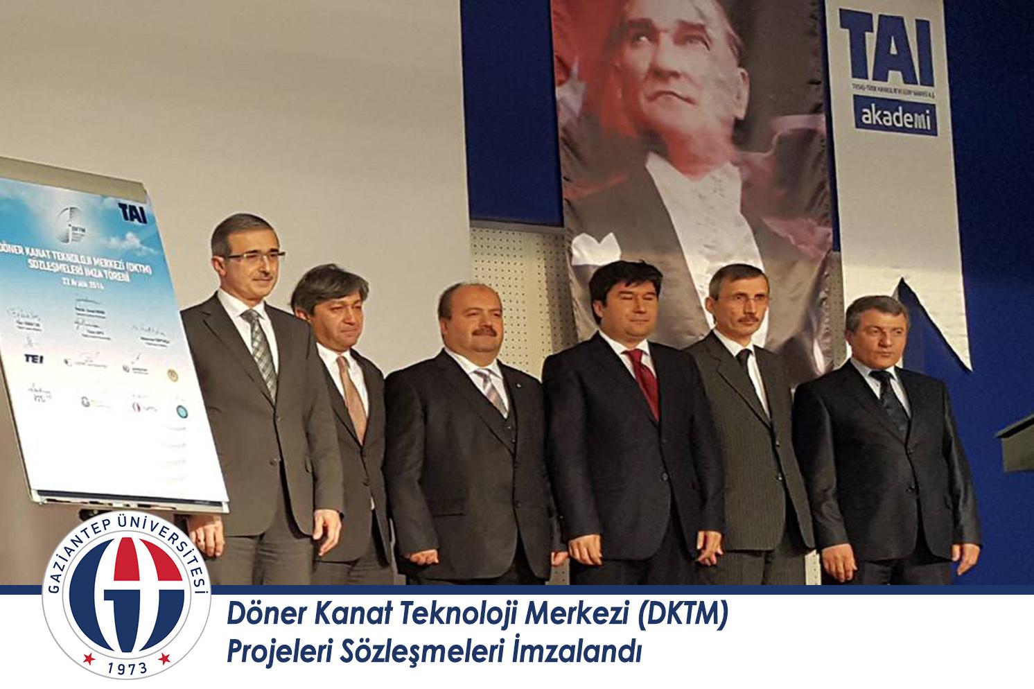 Döner Kanat Teknoloji Merkezi (DKTM) Projeleri Sözleşmeleri İmzalandı_