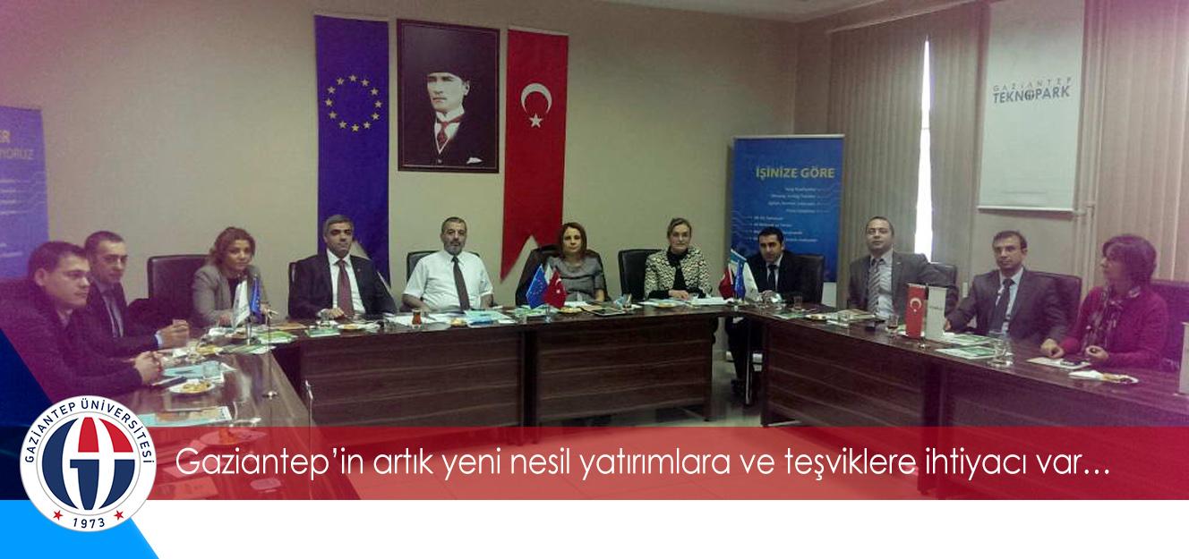 Gaziantepin artık yeni nesil yatırımlara ve teşviklere ihtiyacı var