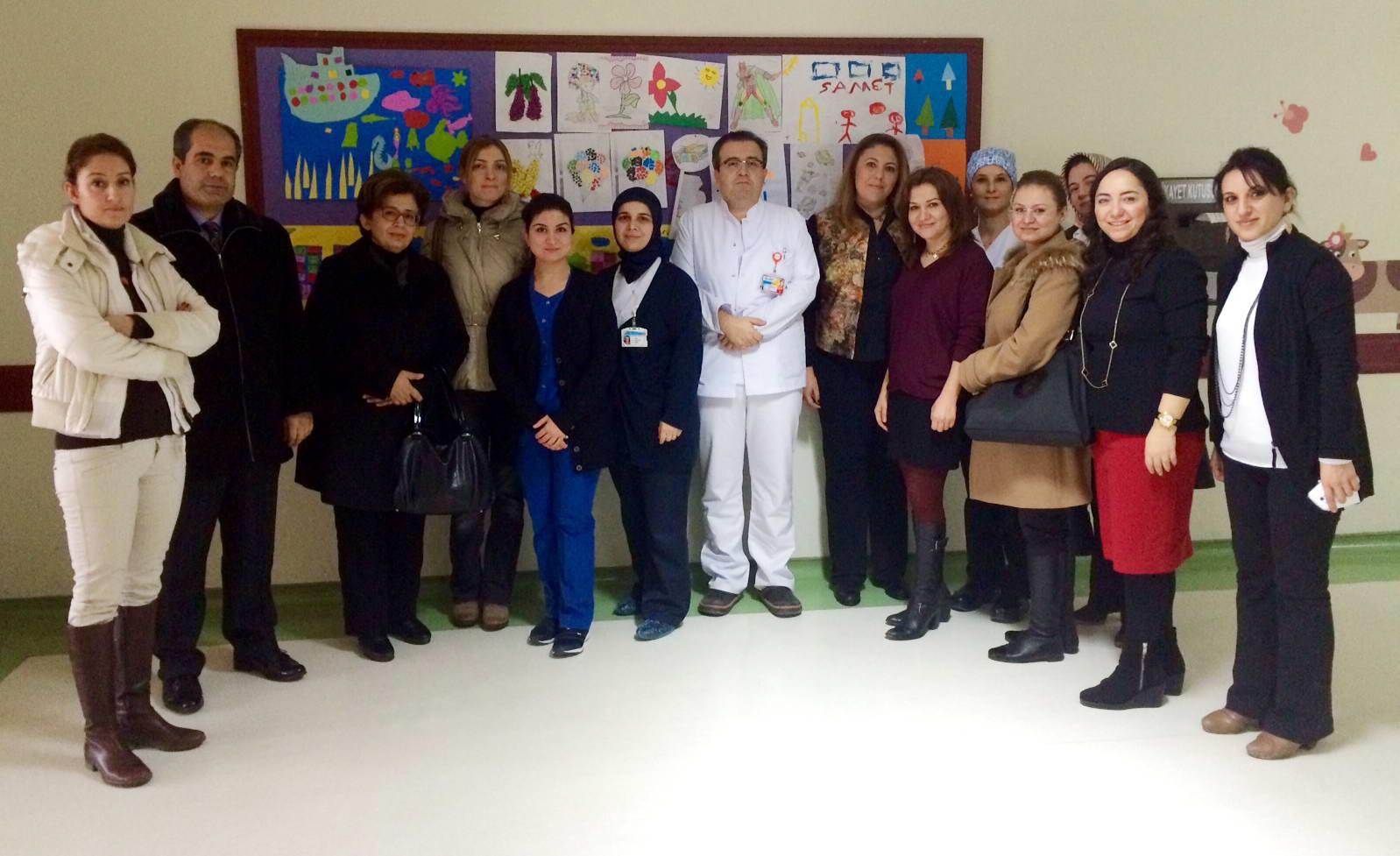 Özel Sanko Okulları Okul Aile Birliğinden Onkoloji Hastanesine Destek (2)