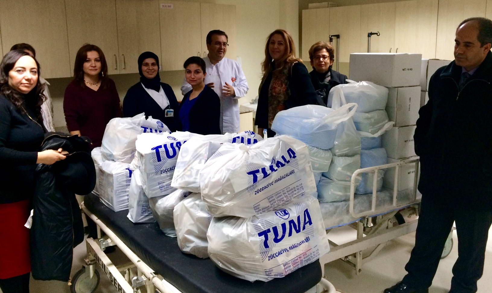 Özel Sanko Okulları Okul Aile Birliğinden Onkoloji Hastanesine Destek (3)