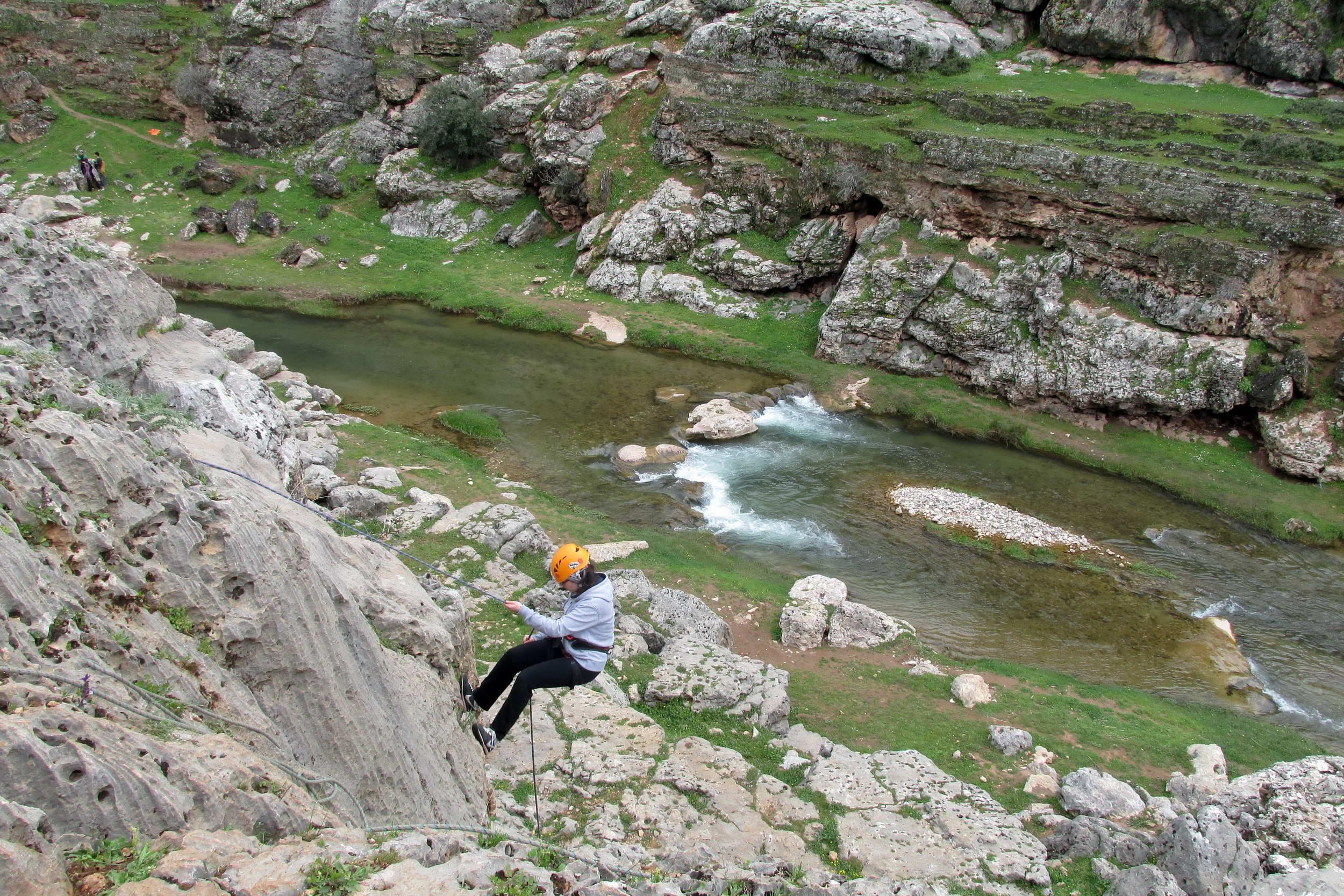 GÜDAT Yaz Gelişim Eğitim Kampını Köklüce Kanyonu'nda Tamamladı (4)