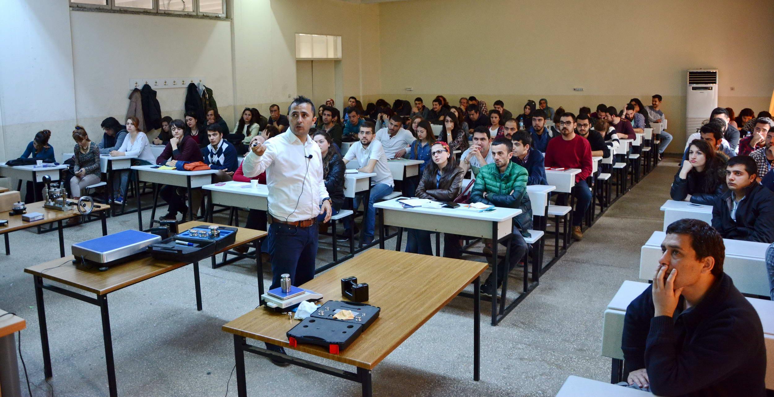 GAÜN Mühendislik Fakültesi Öğrencilerine Eğitim Verildi (2)