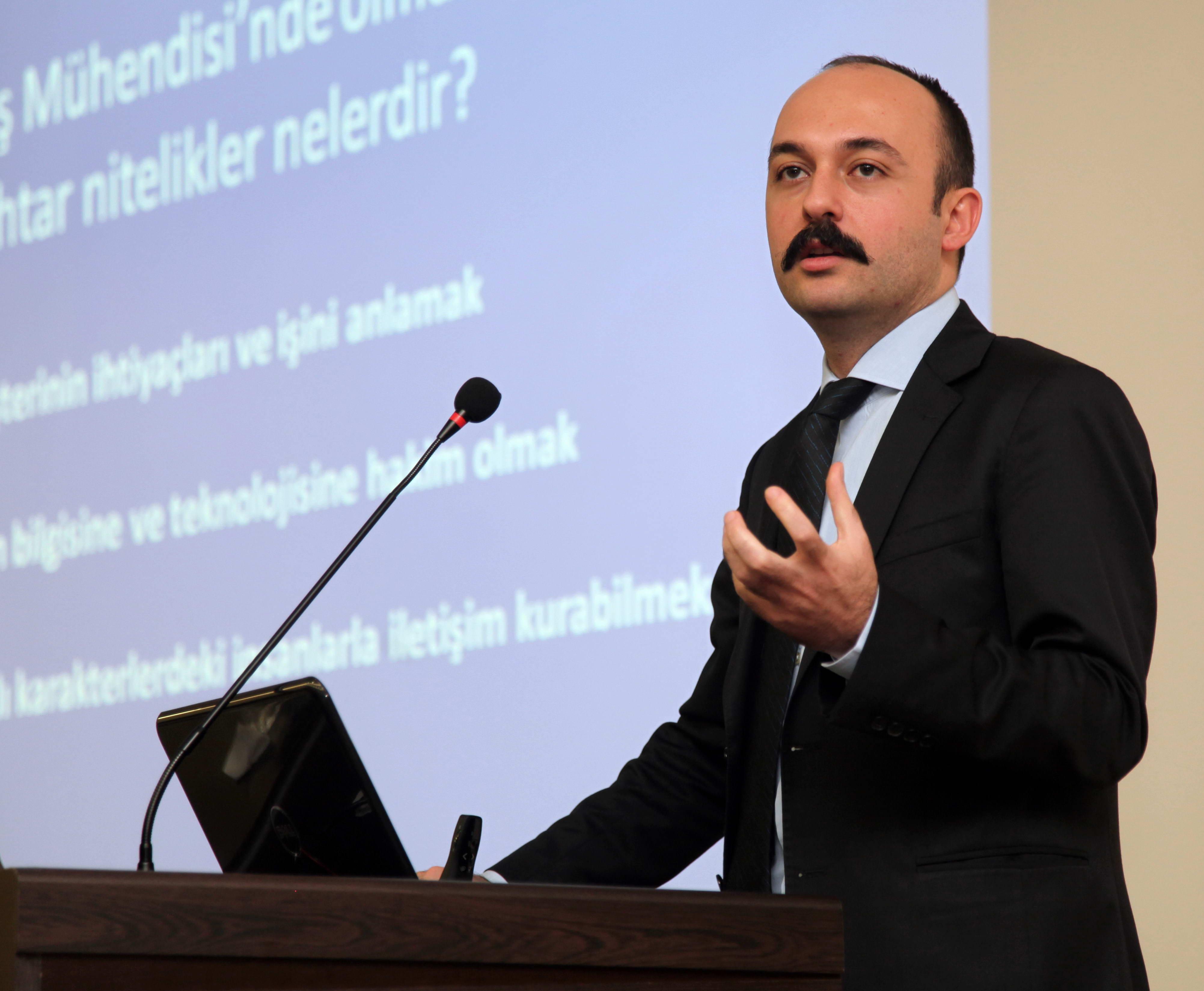 Gaziantep Üniversitesinde Sektör Günleri -  (Sercan Çakaroğlu)