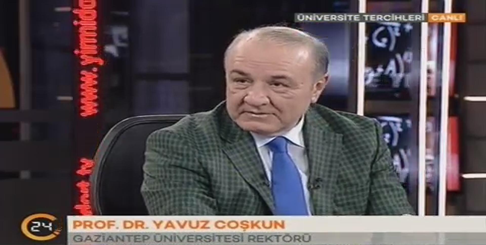 Kanal24 TV - Rektör Gaziantep Üniversitesini Anlatıyor_
