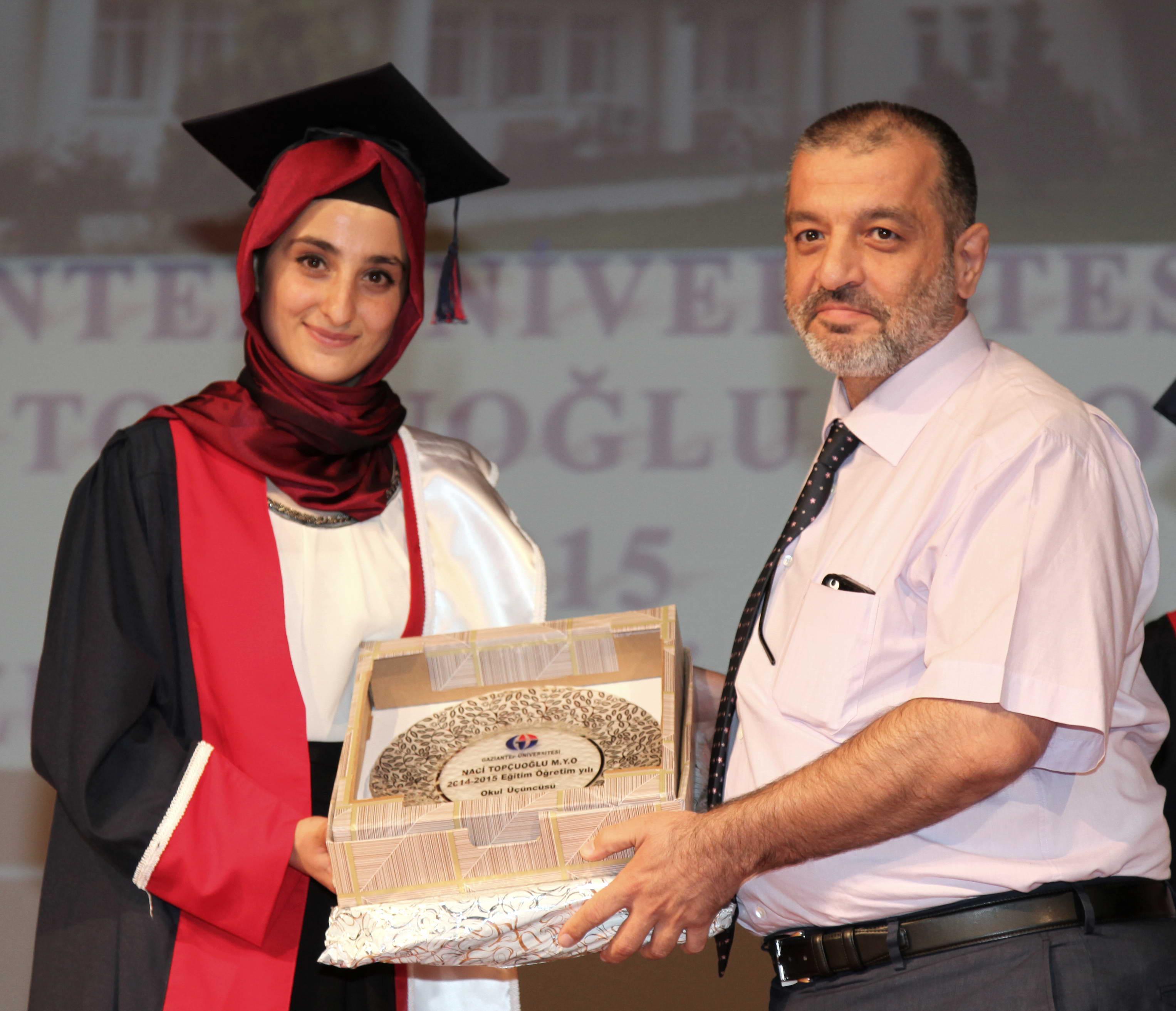 Naci Topçuoğlu Meslek Yüksekokulu Yedinci Dönem Mezunlarını Verdi -  (5)