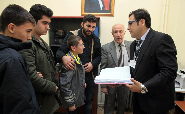 GAP Görme Engelliler Okulu Öğrencileri GAÜN'ü ziyaret etti (7)