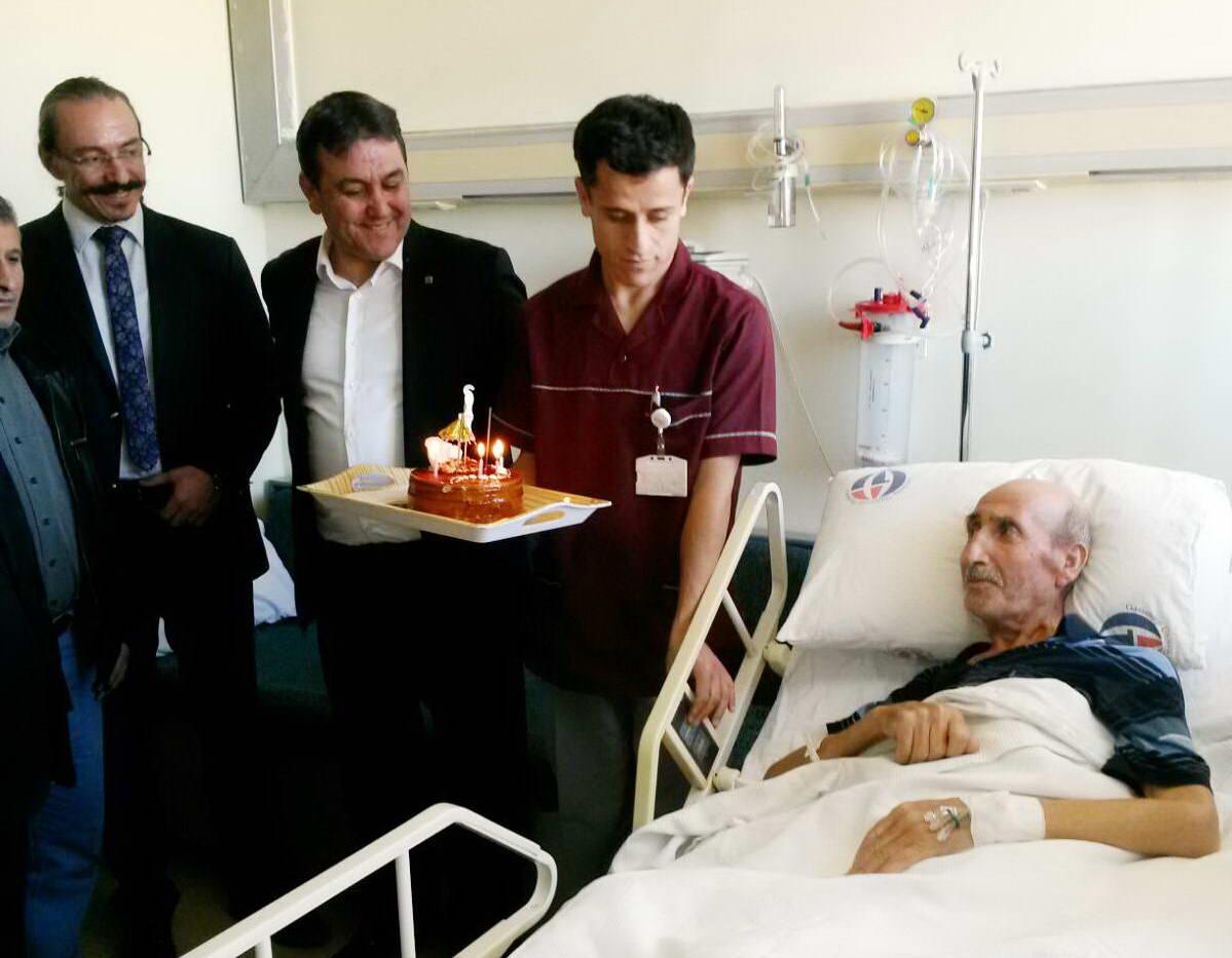 Onkoloji Hastanesi'nde Doğum Günü Kutlaması (1)