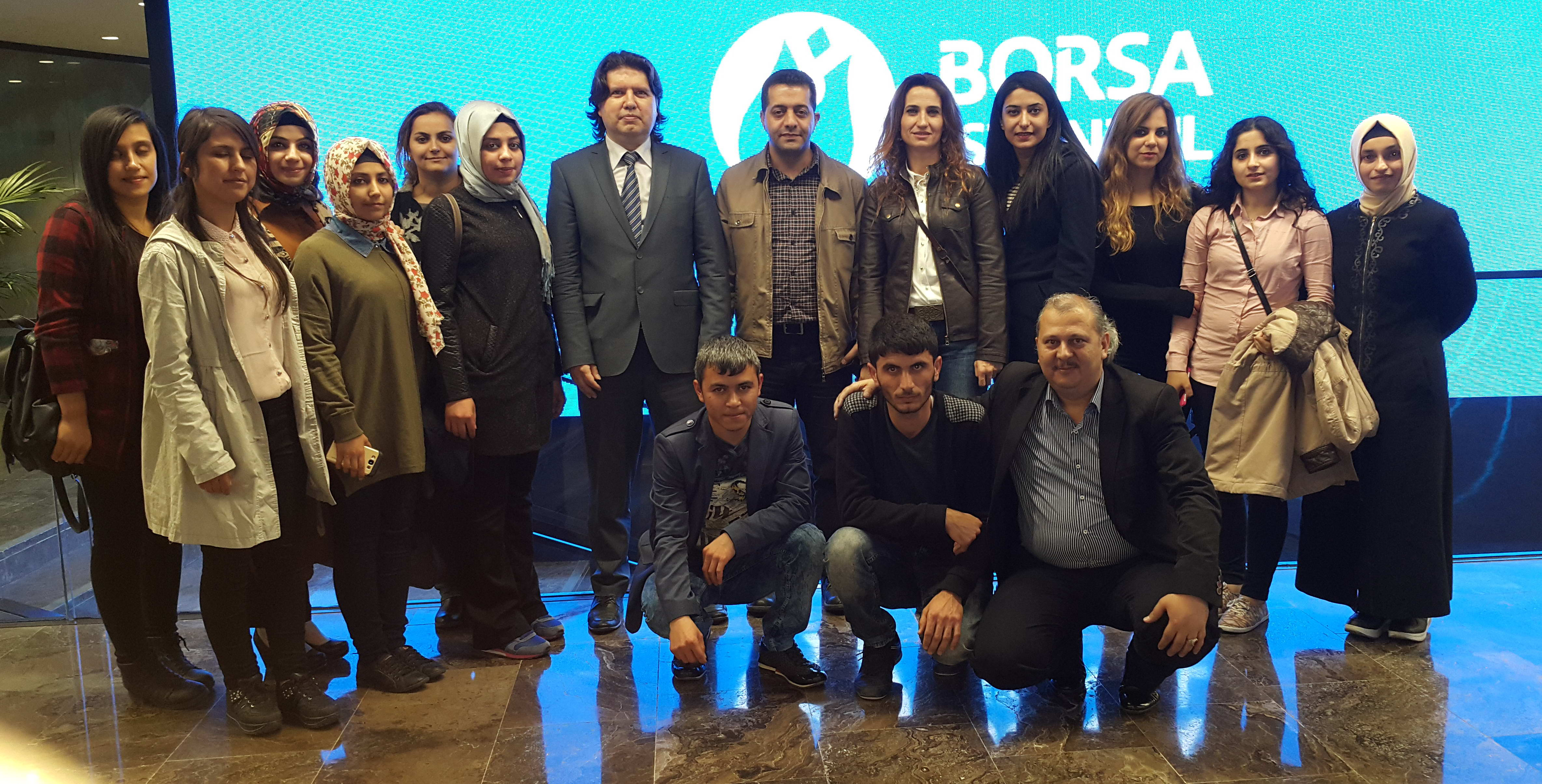 Üniversitelilerden Borsa İstanbul Teknik Gezisi -  (1)