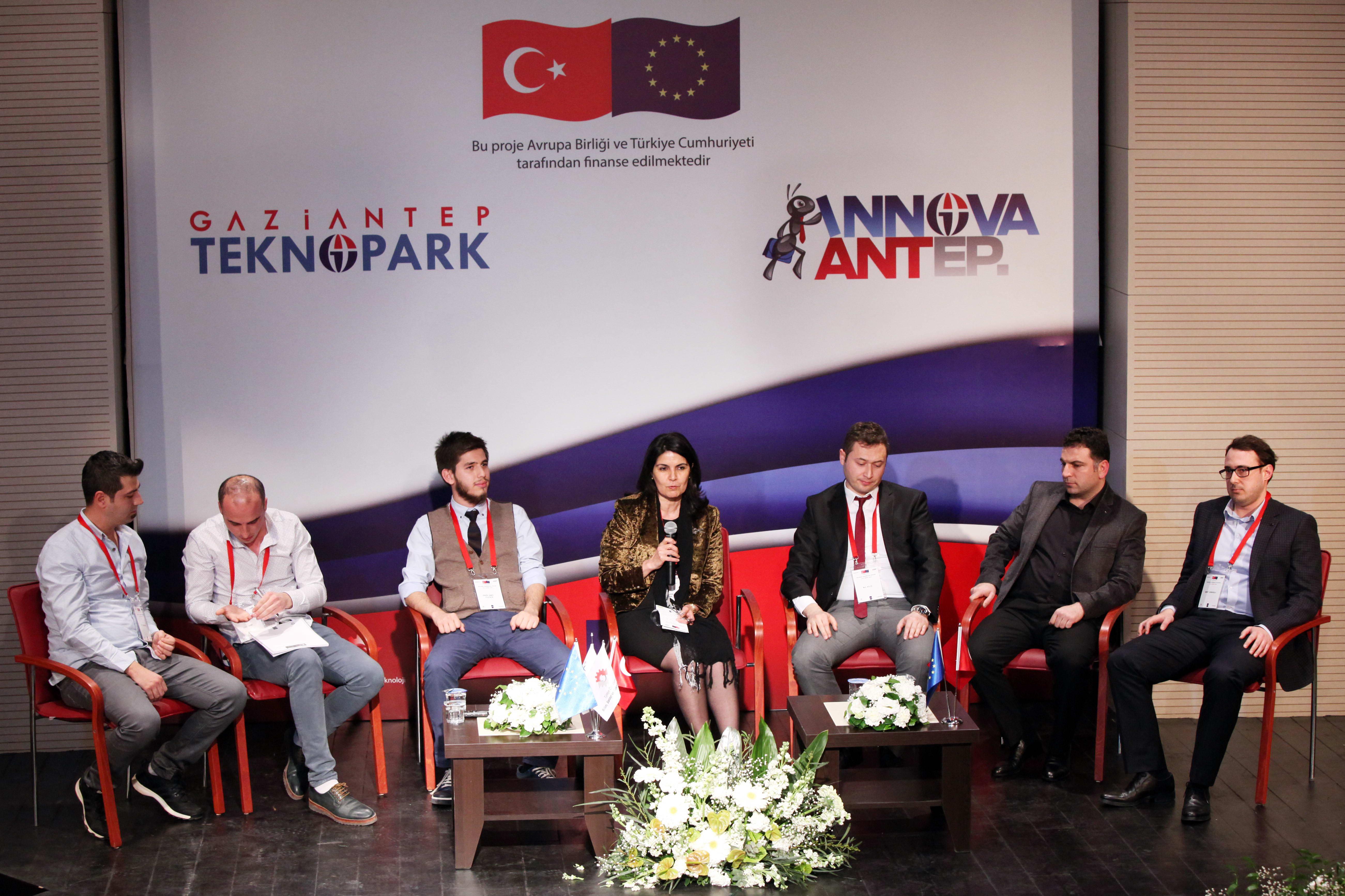 Gaziantep Teknopark 'ta Girişimcilik Paneli Buluşması (1)