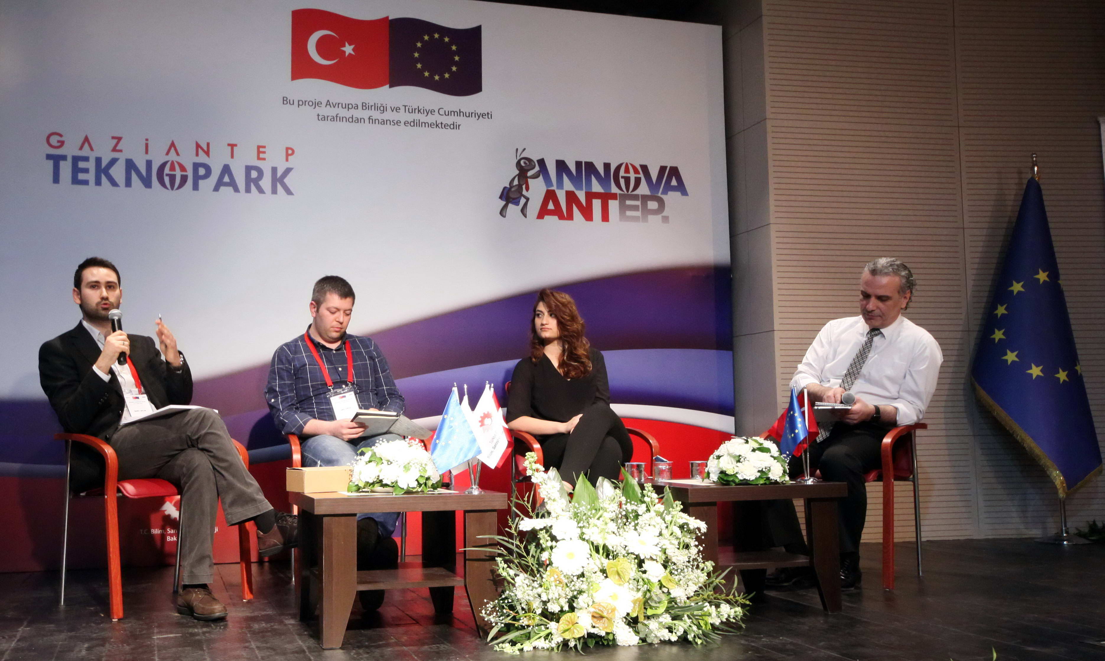 Gaziantep Teknopark 'ta Girişimcilik Paneli Buluşması (2)