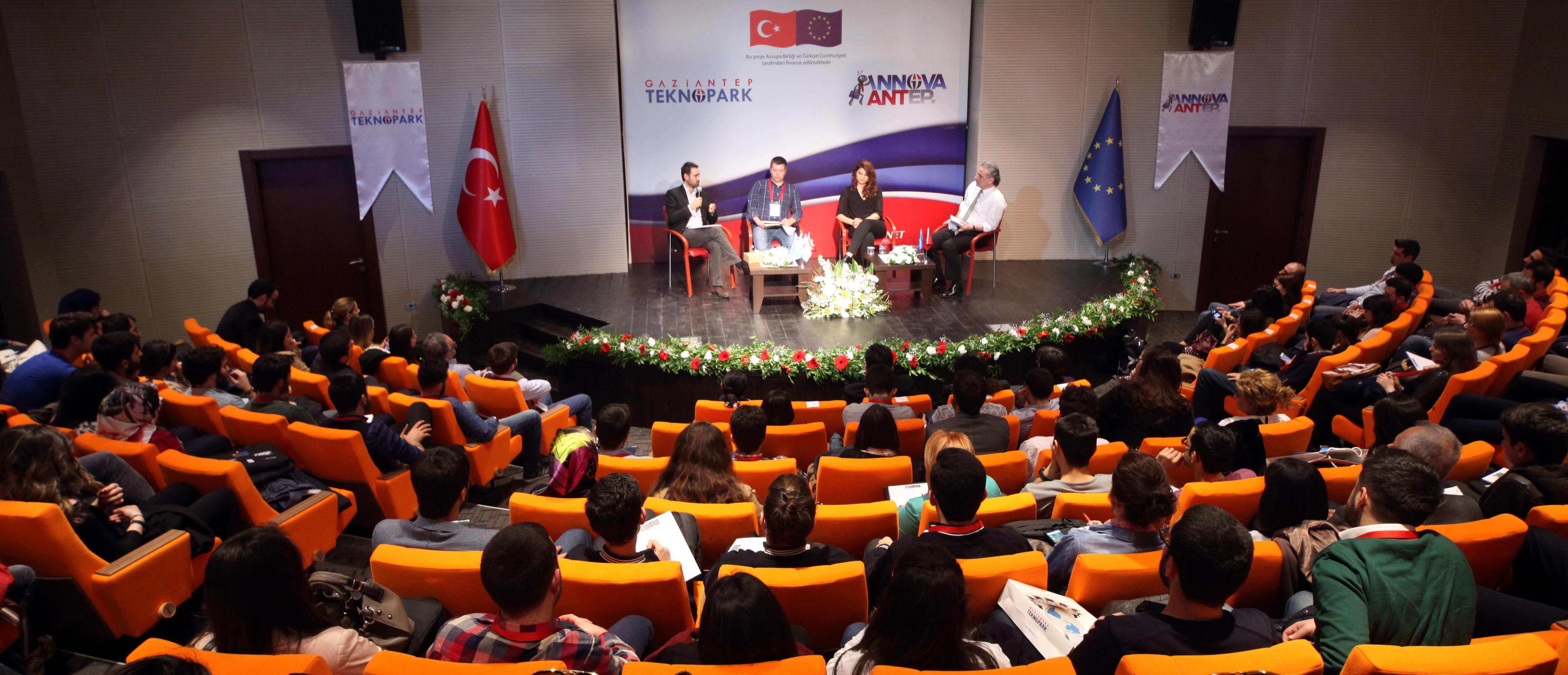 Gaziantep Teknopark 'ta Girişimcilik Paneli Buluşması (4)