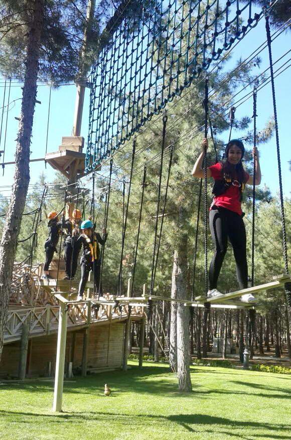 Oğuzeli MYO Öğrencileri Macera Parkı'nda (2)