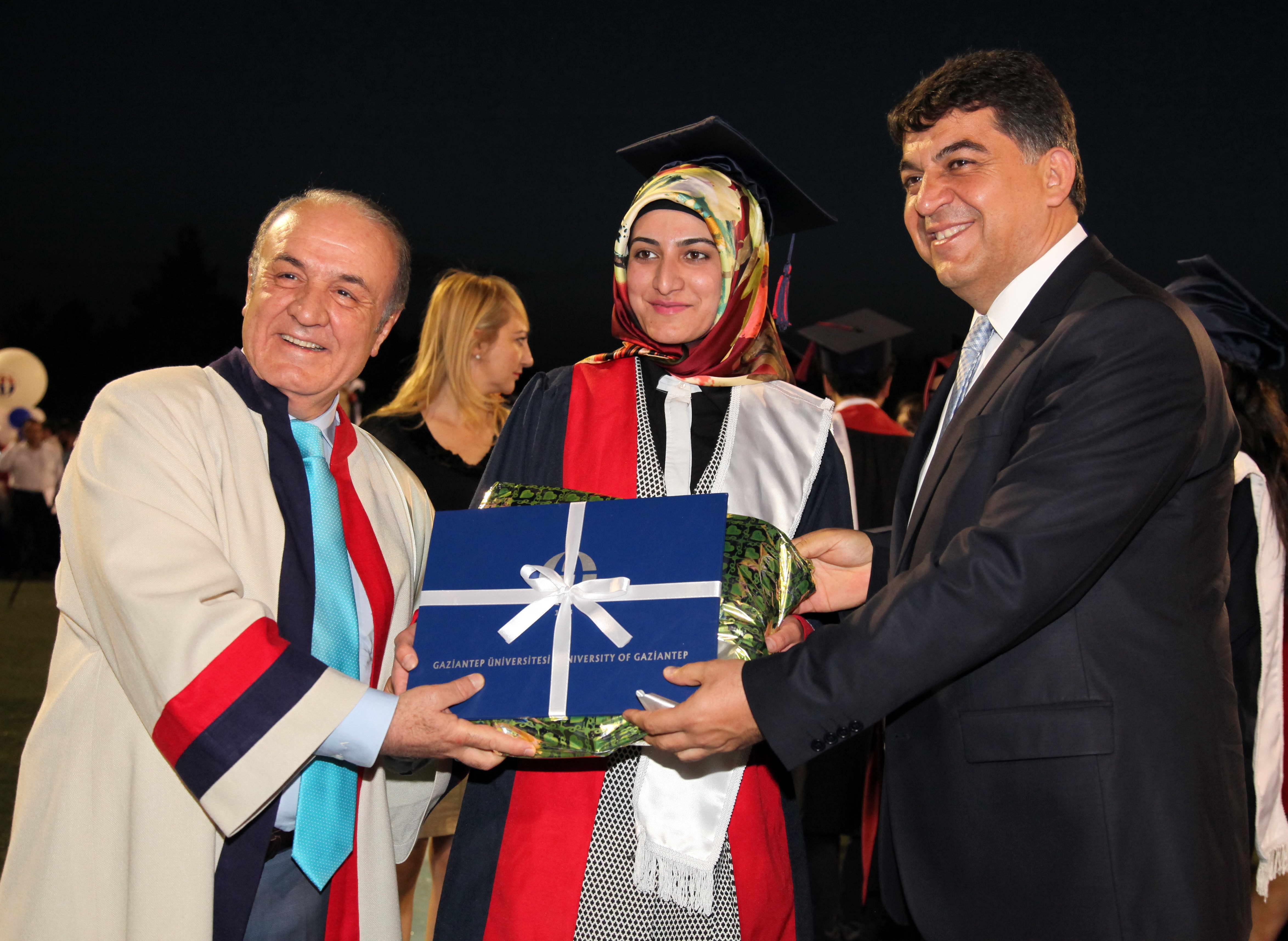 GAZİANTEP Üniversitesi'nde mezuniyet coşkusu - (Rıdvan Fadıloğlu)