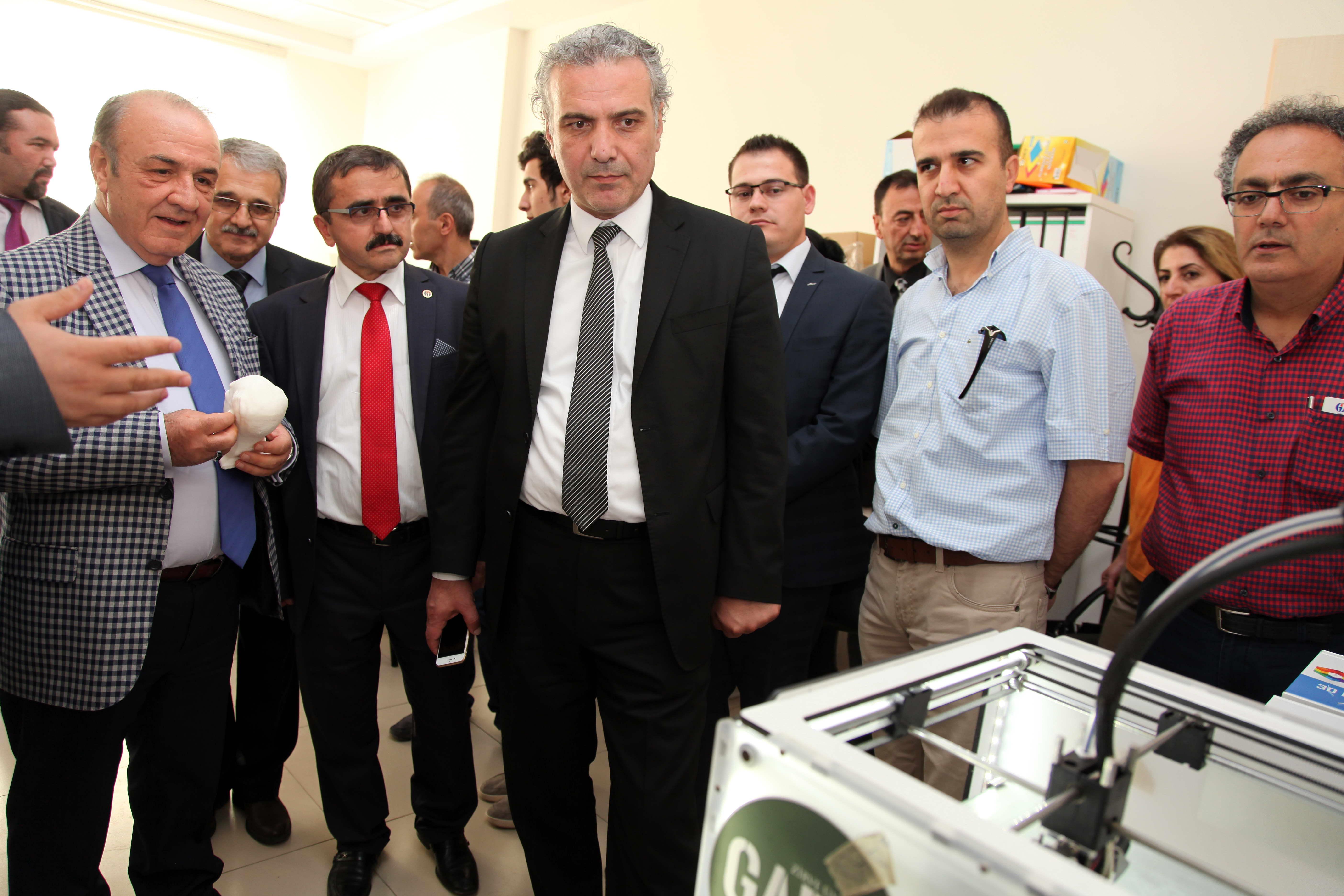 Gaziantep TEKNOPARK yeni yaptırılan binalarını hizmete açtı (2)