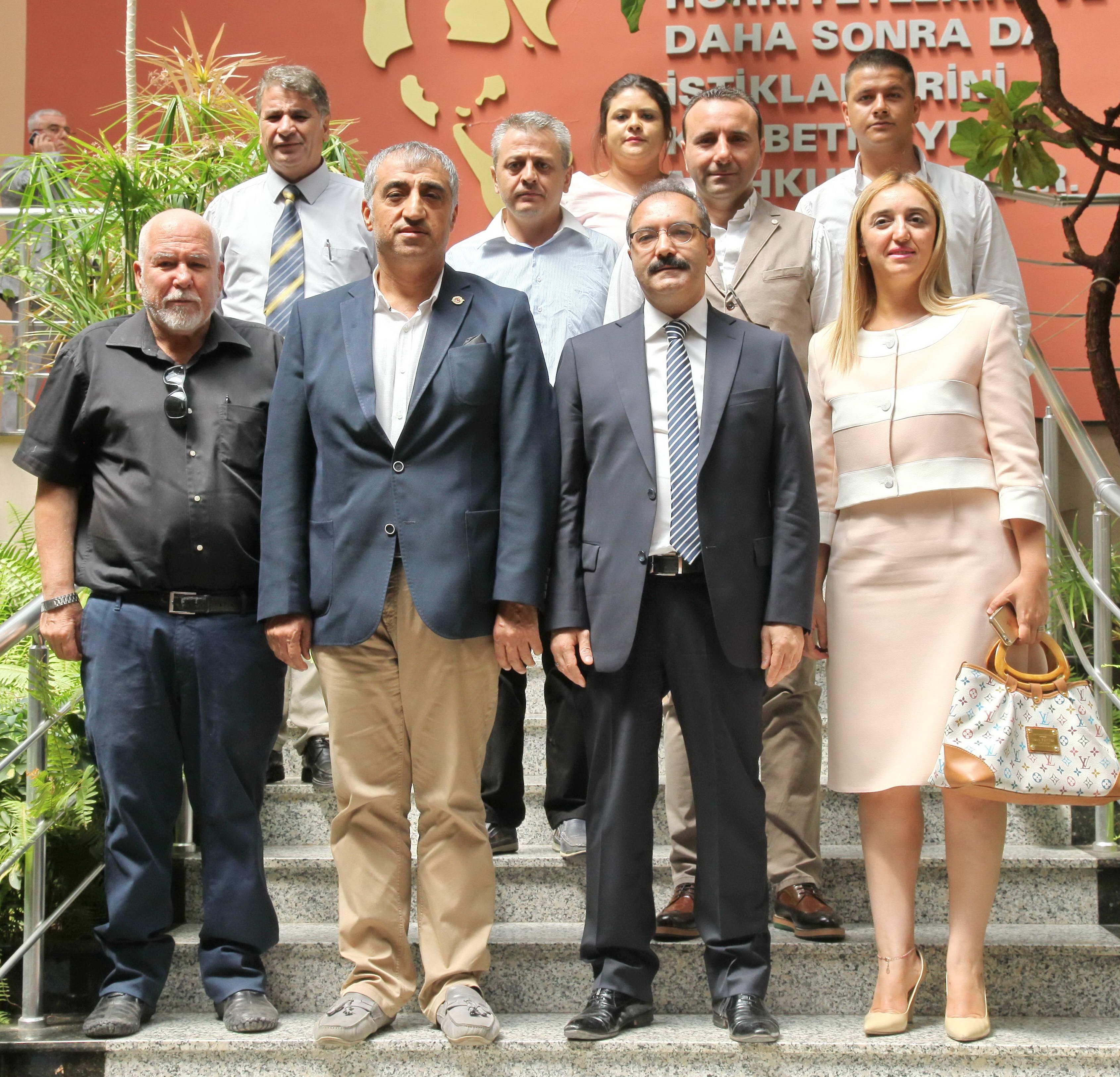 Güneydoğu Gazeteciler Cemiyeti Yönetim Kurulundan Rektör Prof. Dr. Gür'e Hayırlı Olsun Ziyareti