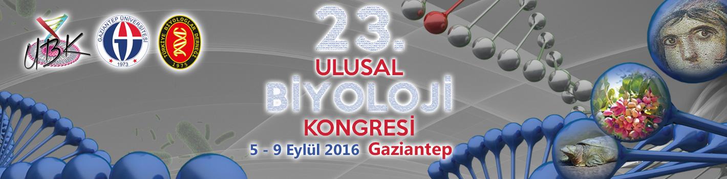23. Ulusal Biyoloji Kongresi GAÜN'de gerçekleştirilecek