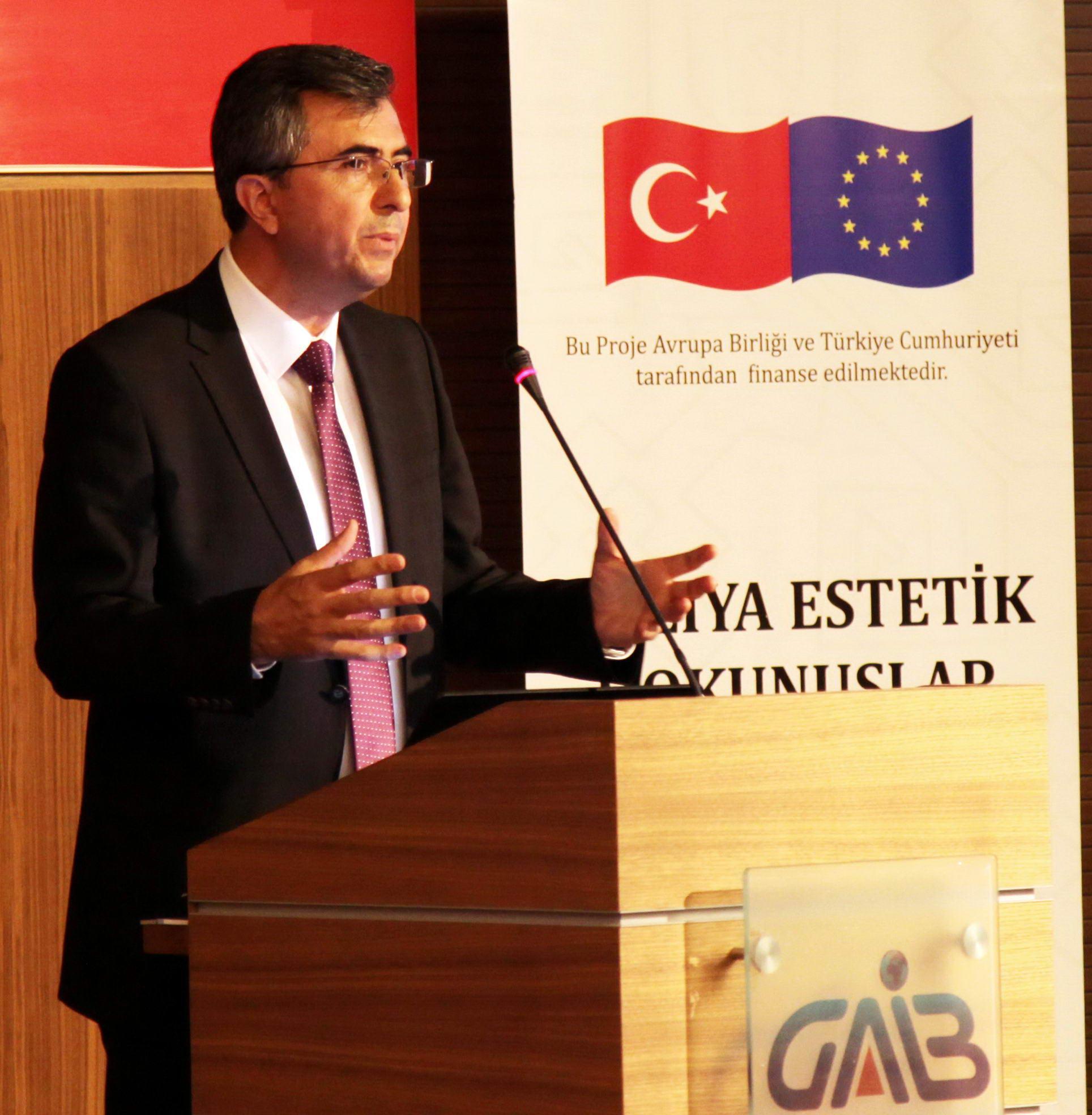 Halıya Estetik Dokunuşlar' Projesi -  (Doç. Dr. Necip Fazıl Yılmaz-1)