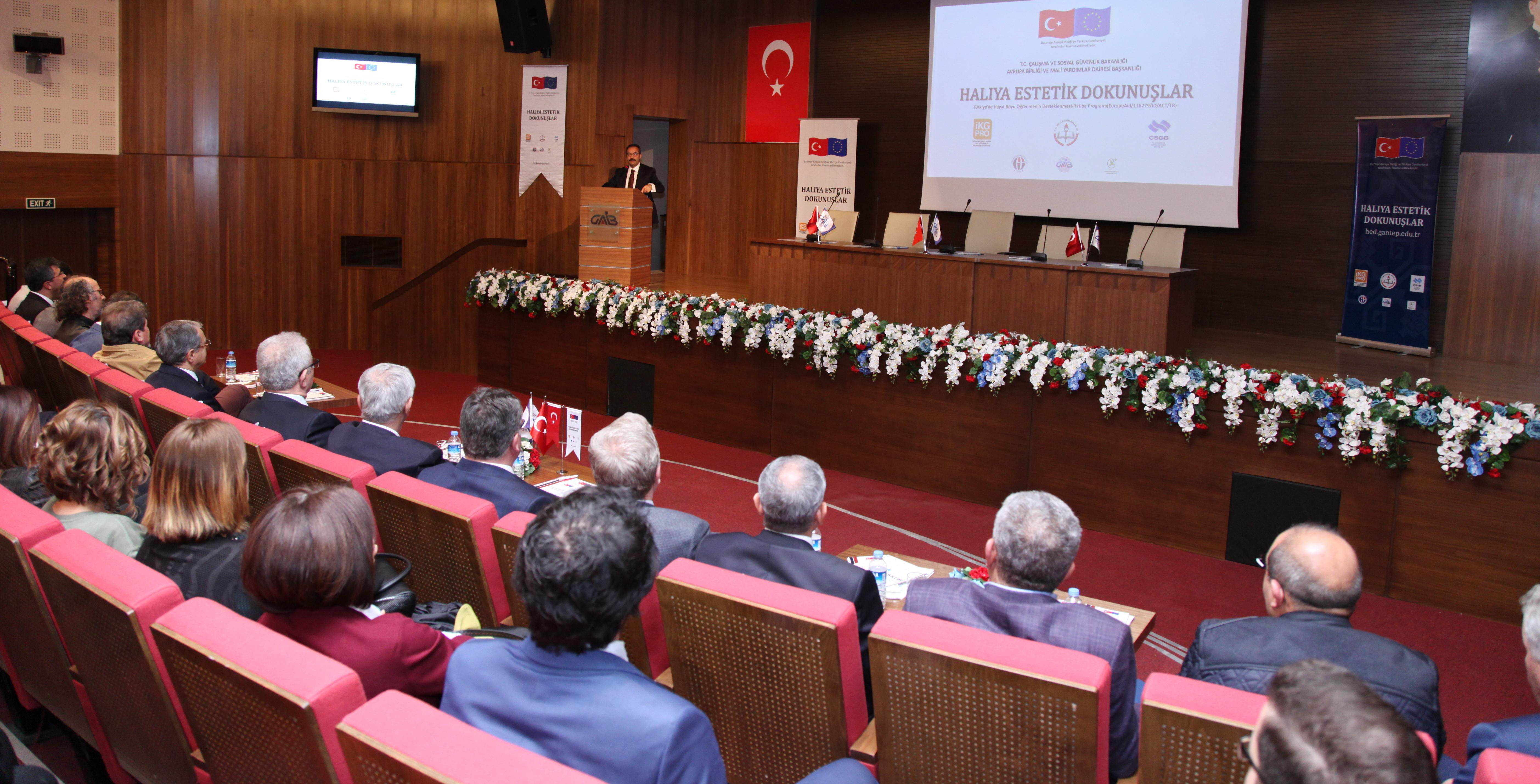 Halıya Estetik Dokunuşlar' Projesi