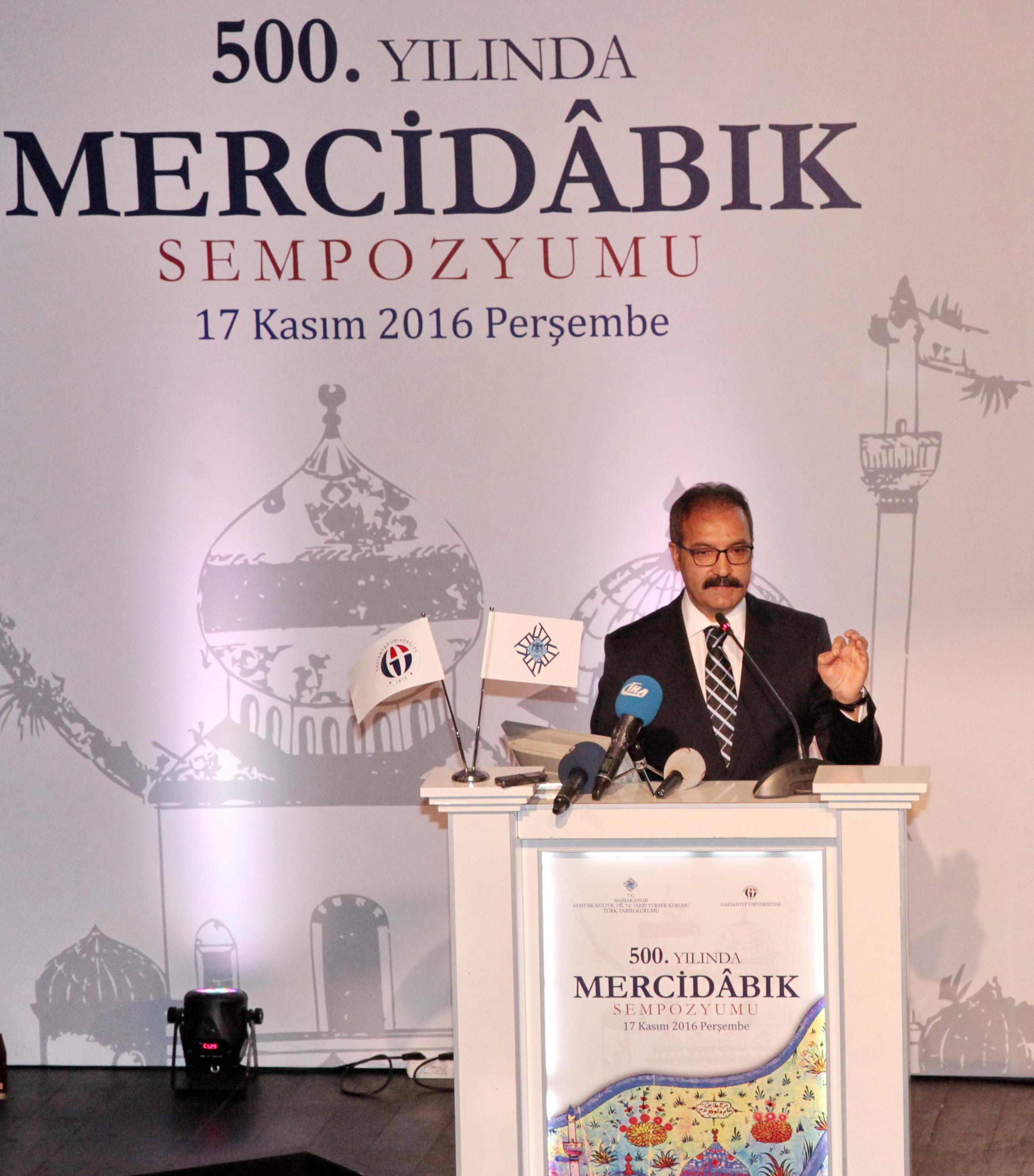 Mercidâbık Sempozyumu -  (Prof. Dr. Ali Gür-1)