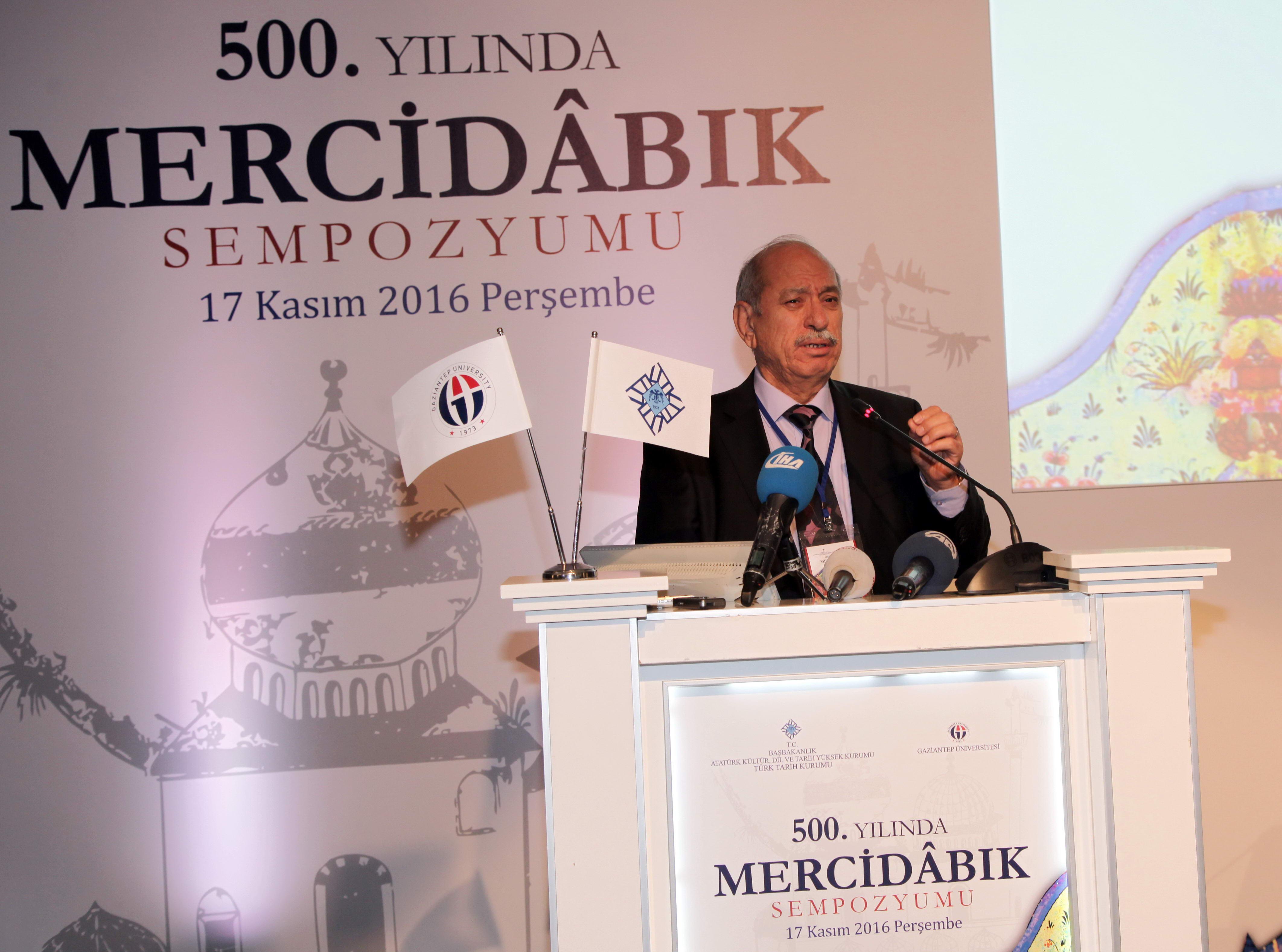 Mercidâbık Sempozyumu -  (Prof. Dr. Refik Turan)