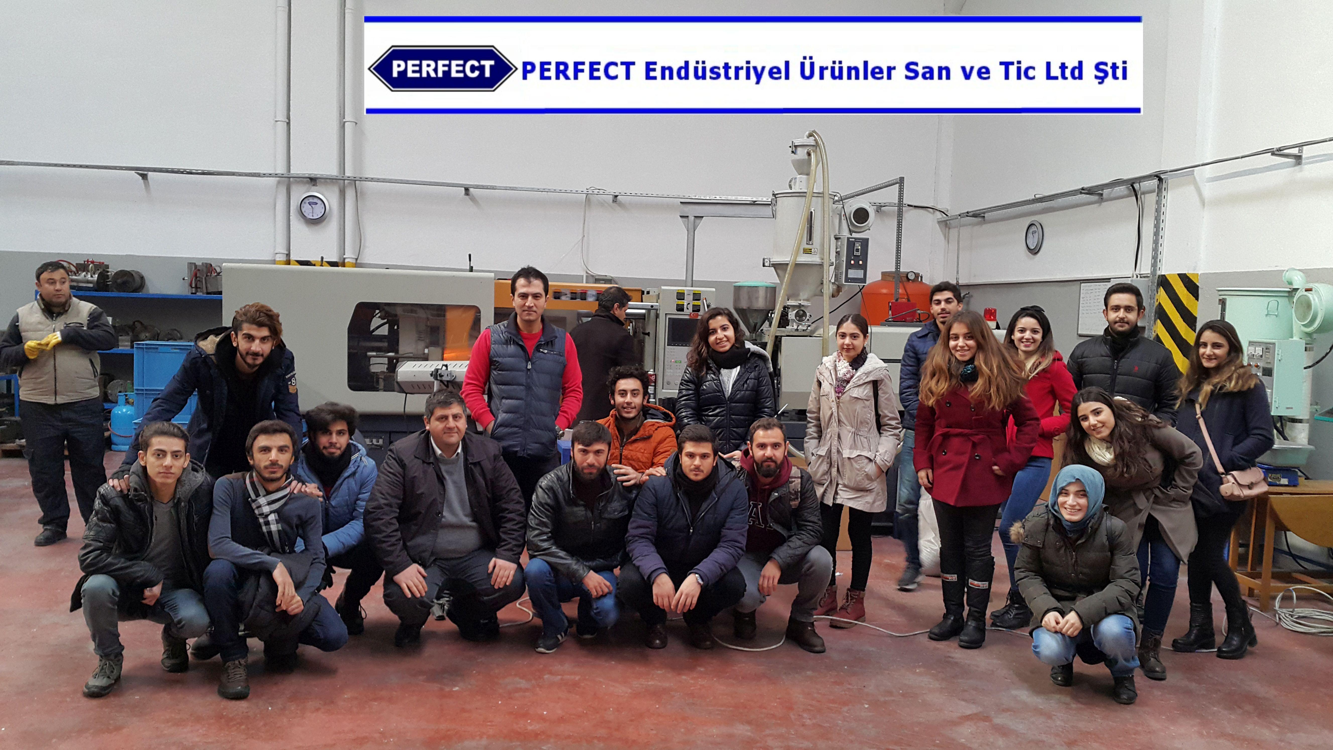 GAÜN Öğrencilerinden Perfekt Endüstriyel Firmasına Teknik Gezi