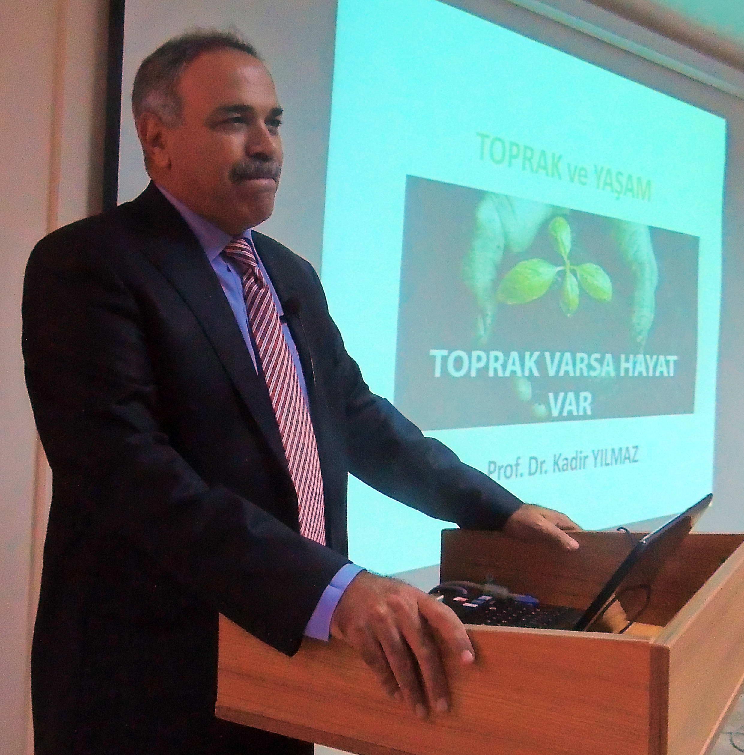 Prof. Dr. Yılmaz Geleceğimiz için tarım arazilerine iyi bakmamız lazım -  (1)