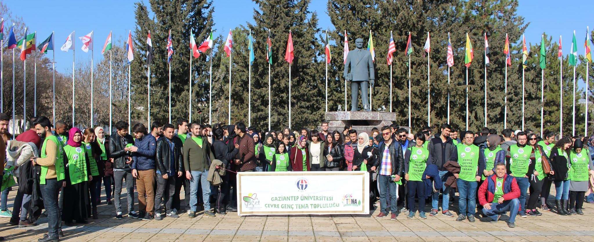 GAÜN'de Yabancı Uyruklu Öğrenciler Fidan Dikti (5)