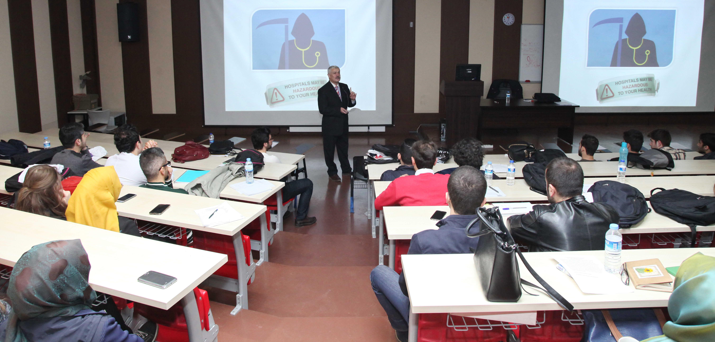 Prof. Dr. Cesur'dan Hekimlik Gözüyle Kader Konferansı -  (2)