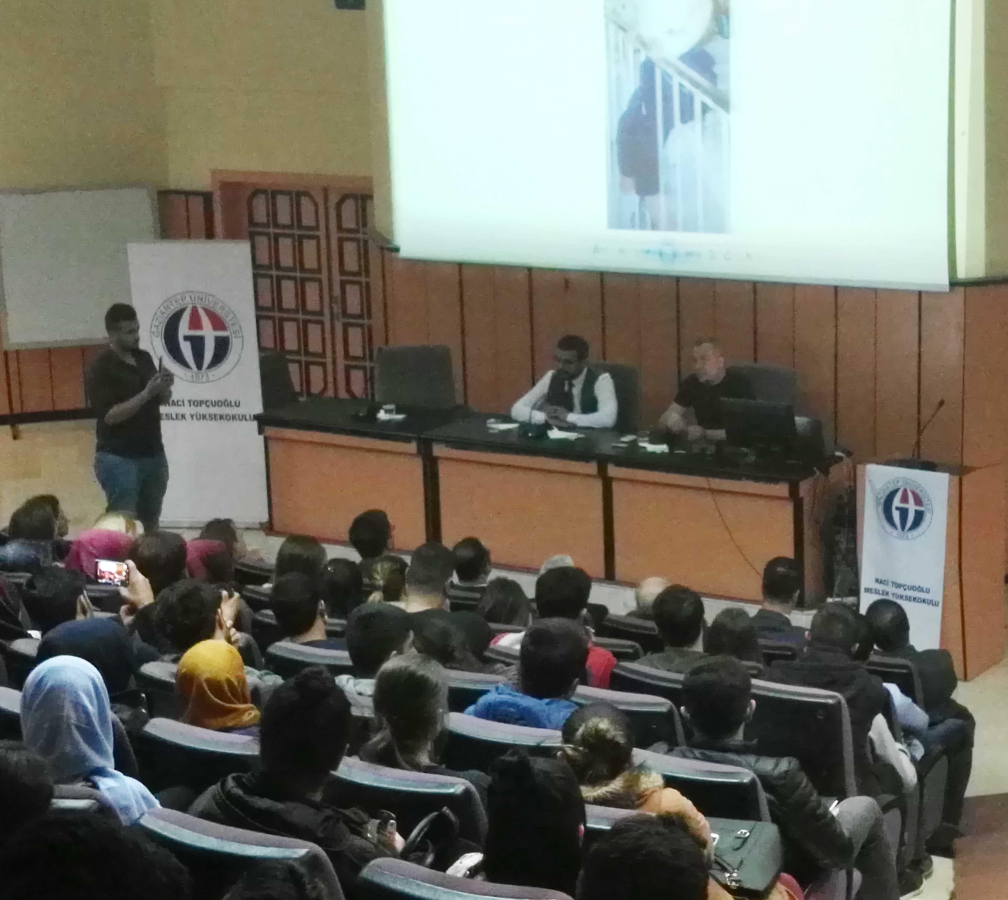 ilik Kanseri ve Kemik İliği Nakli Konferansına GAÜN'lü Öğrencilerden Yoğun İlgi (1)