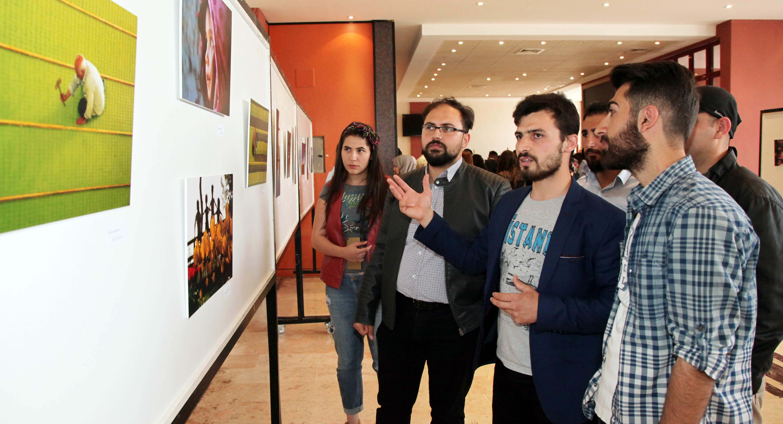 Gaziantep Üniversitesi Fotoğraf Topluluğu Öğrencileri Sergi Açtı -  (2)