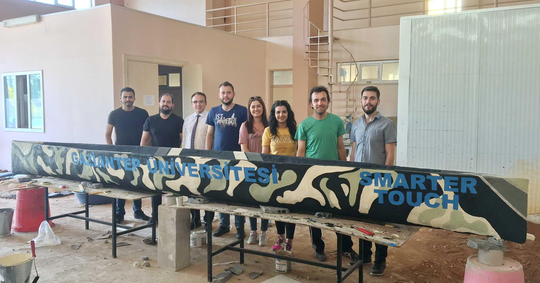 Gaziantep Üniversitesi Öğrencilerinden Yüzen Beton -  (1)