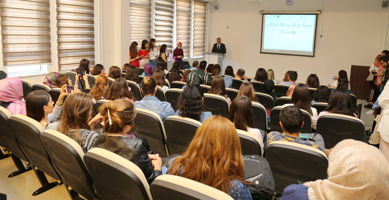 GAÜN Öğrencilerinden Gıda Günü Etkinliği -  (2)