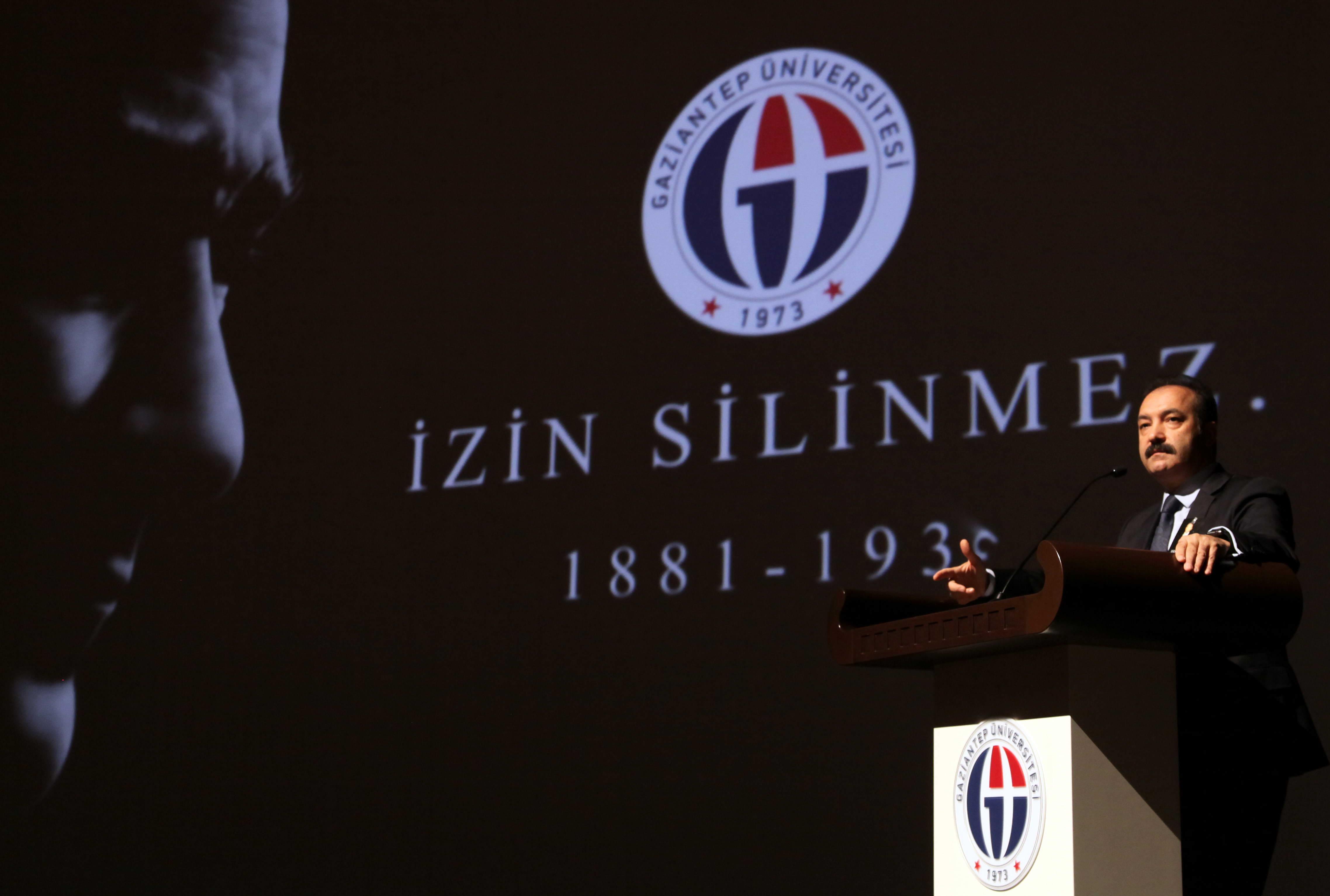 GAÜN'DE ULU ÖNDER ATATÜRK'Ü ANMA TÖRENİ -  (Prof.Dr.Ali Gür)