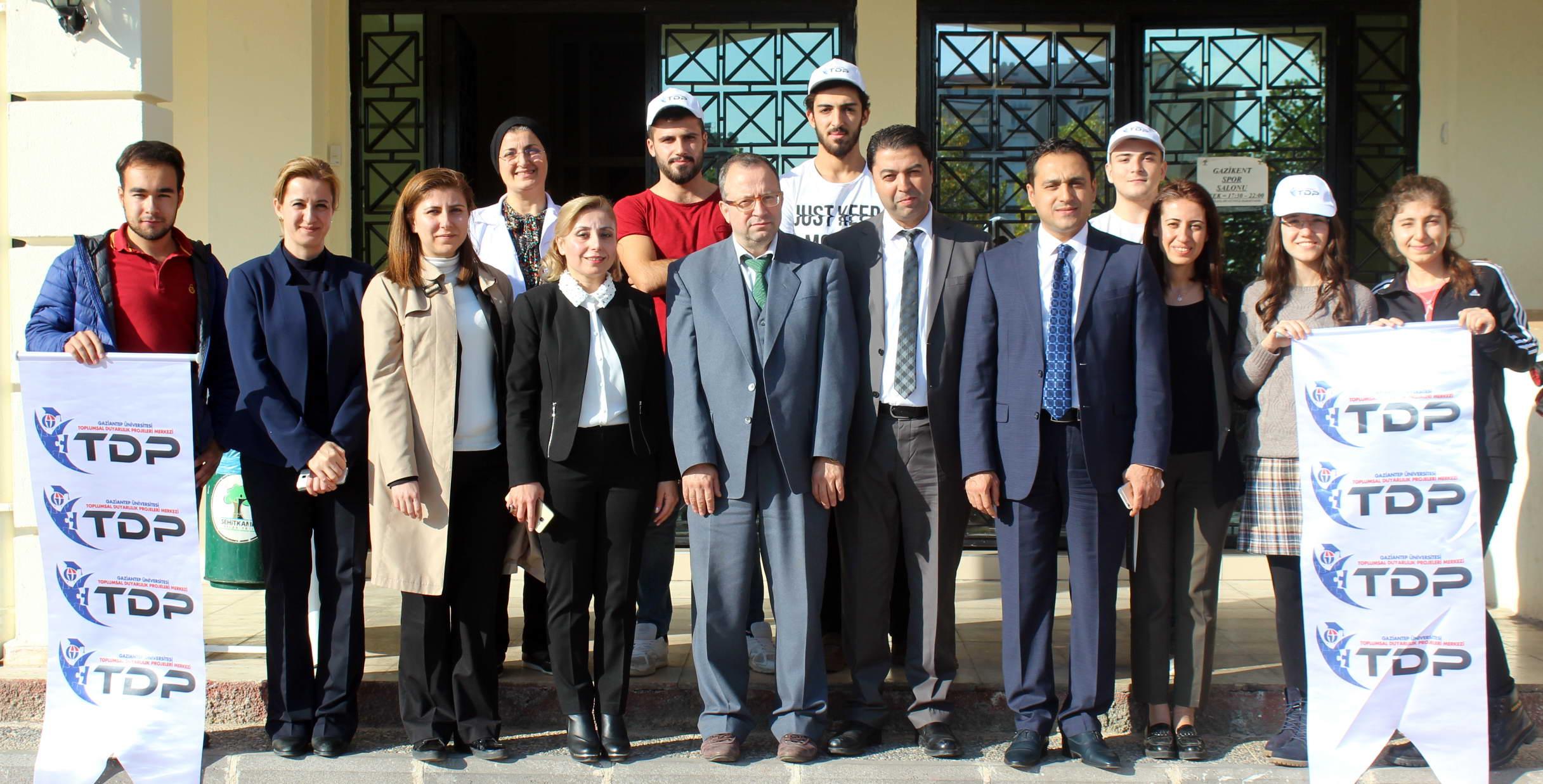 Gaziantep'in eğitimine GAÜN TDP dopingi -  (1)