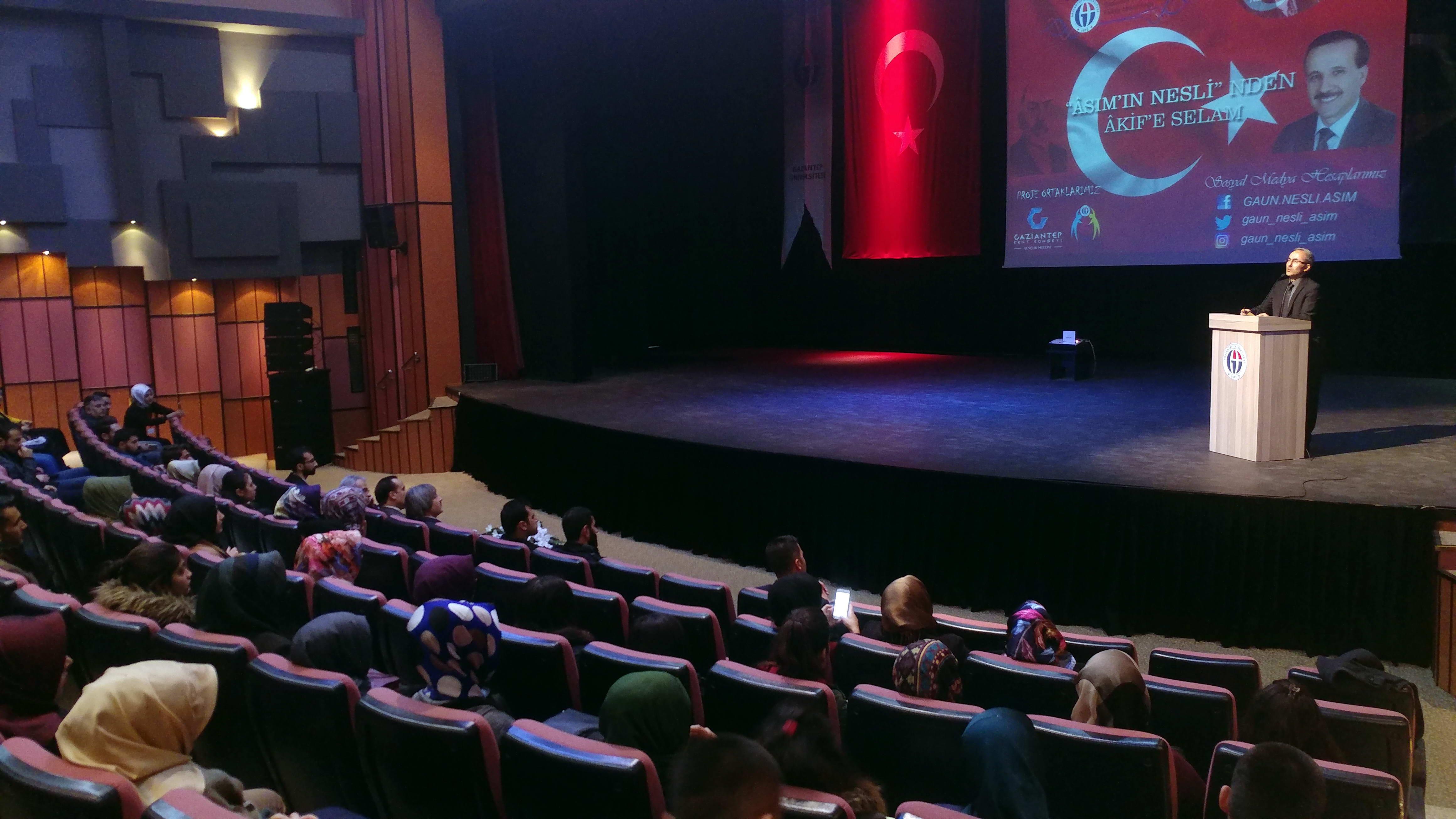 Asım'ın Nesli'nden Akif'e Selam konferansı-2
