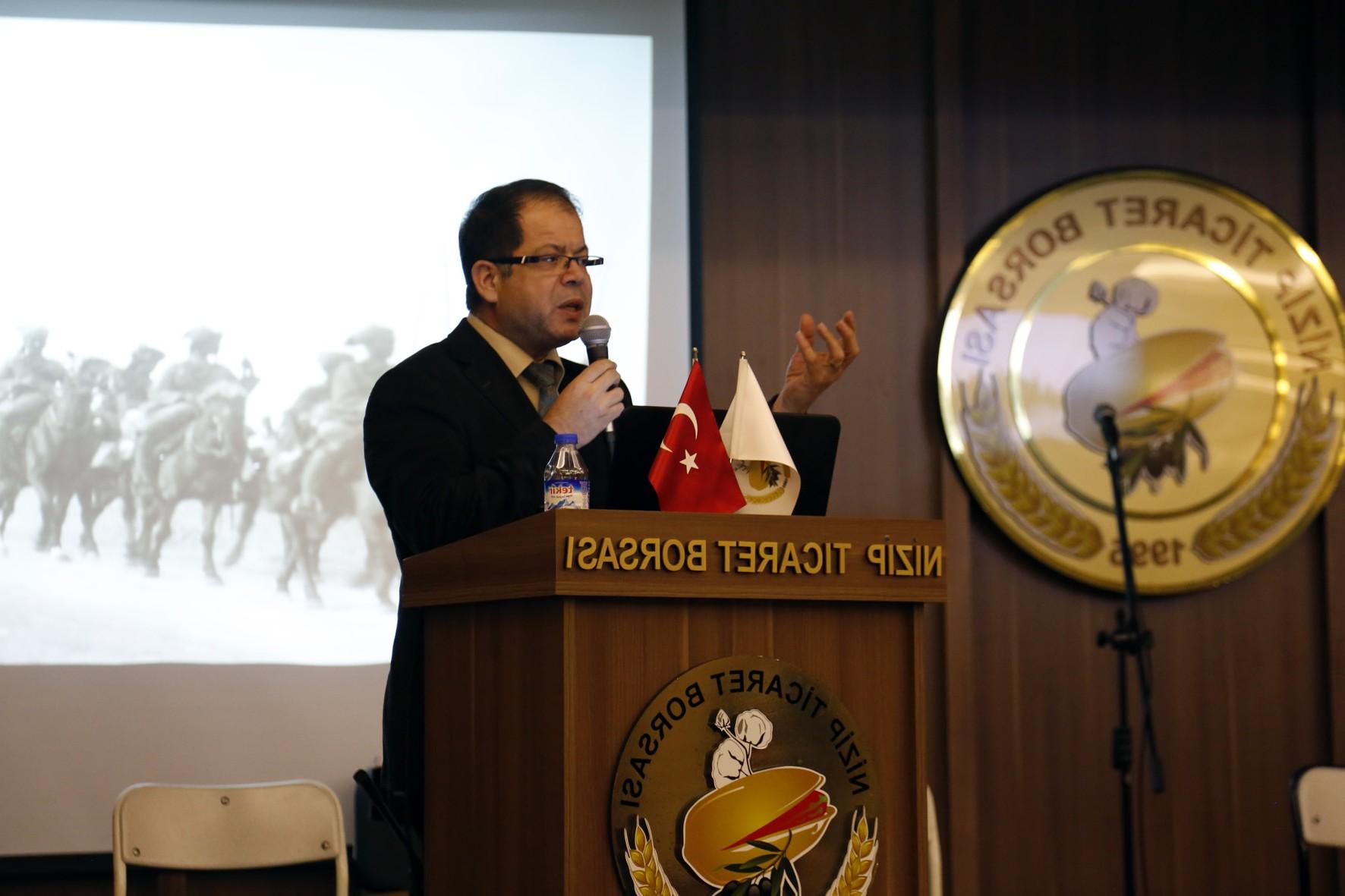 """Prof. Dr. Halil İbrahim Yakar'dan """"Belgelerle Antep Savunması"""" Konferansı-2"""