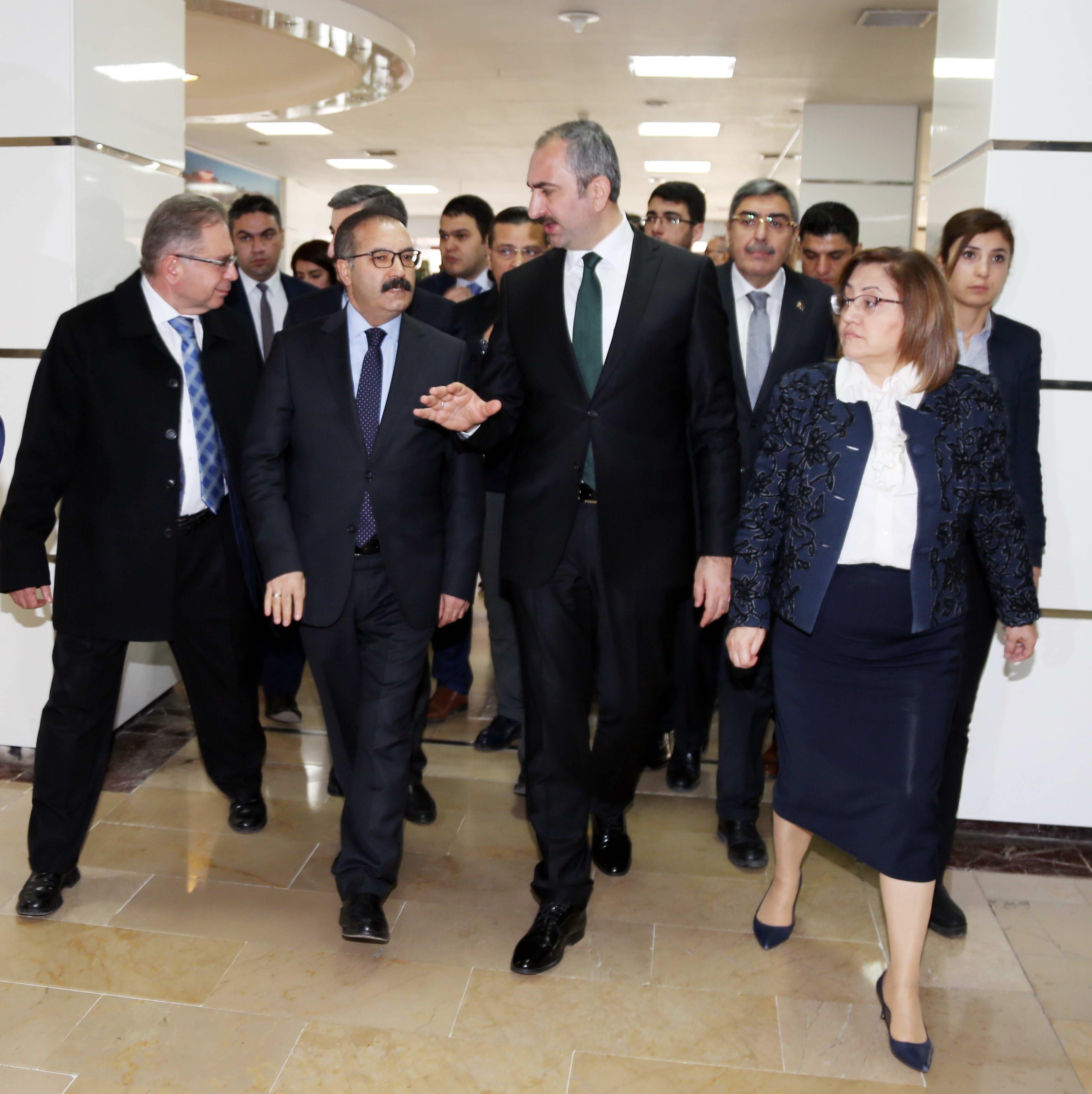 Bakan Gül'den Afrin Gazilerine ziyaret -  (1)