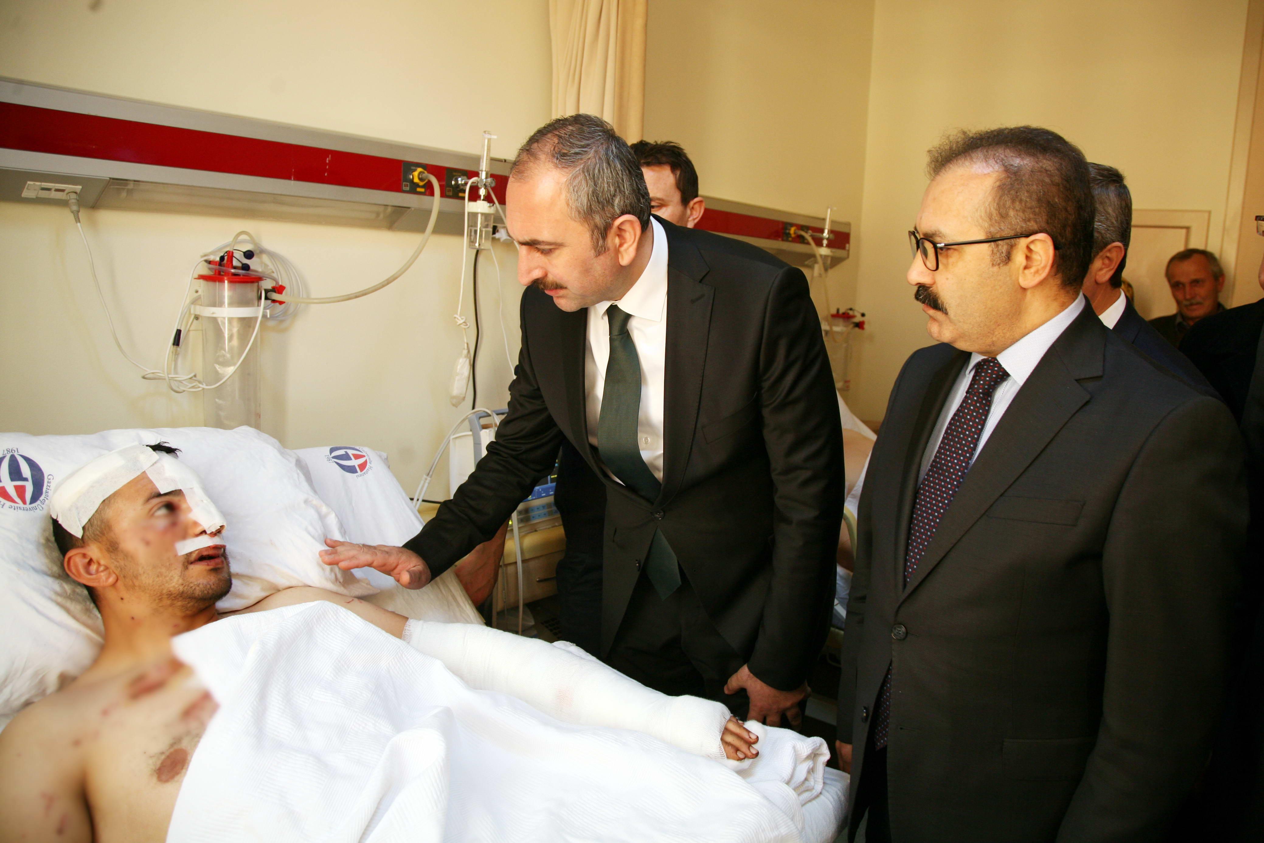 Bakan Gül'den Afrin Gazilerine ziyaret -  (4)