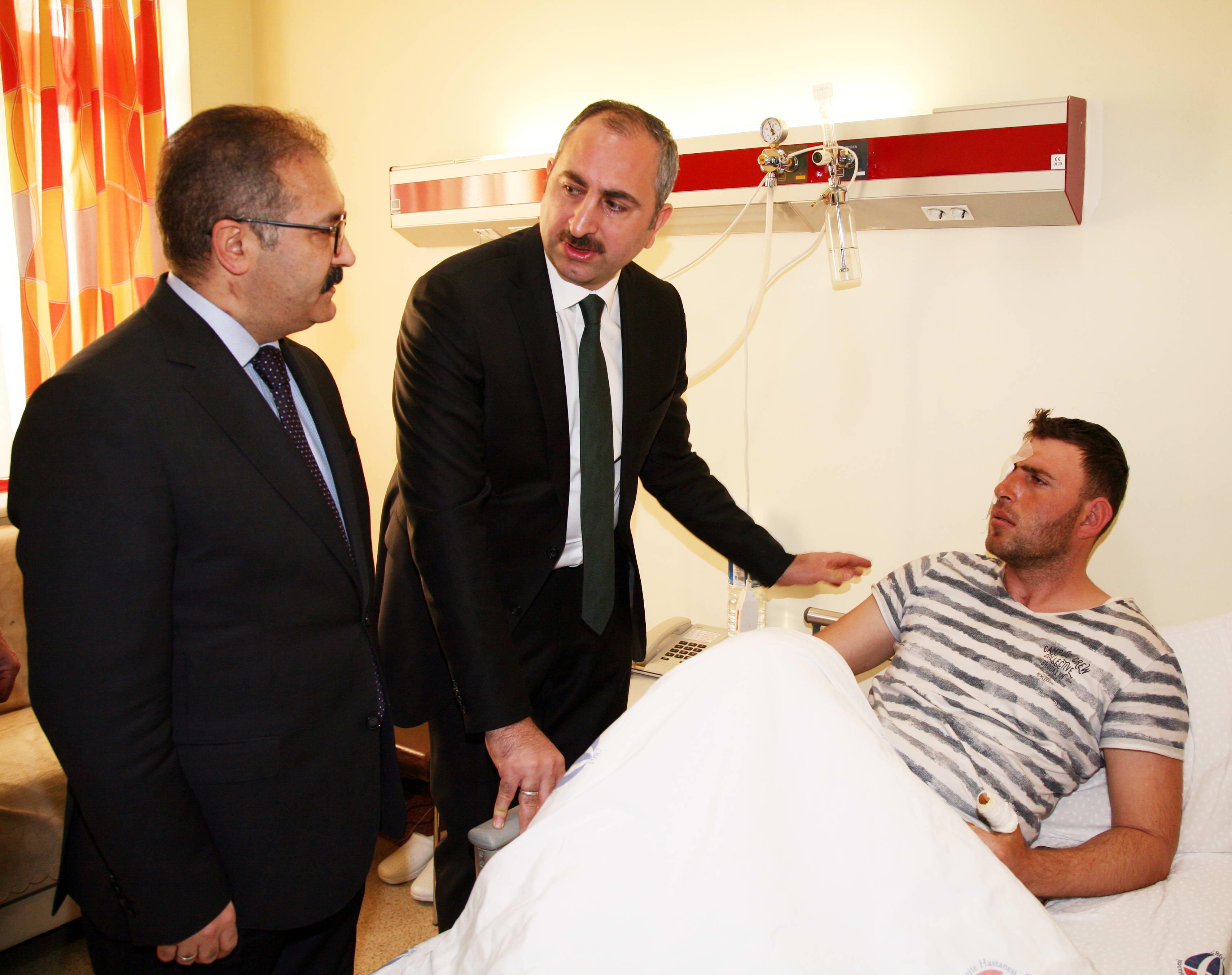 Bakan Gül'den Afrin Gazilerine ziyaret -  (5)