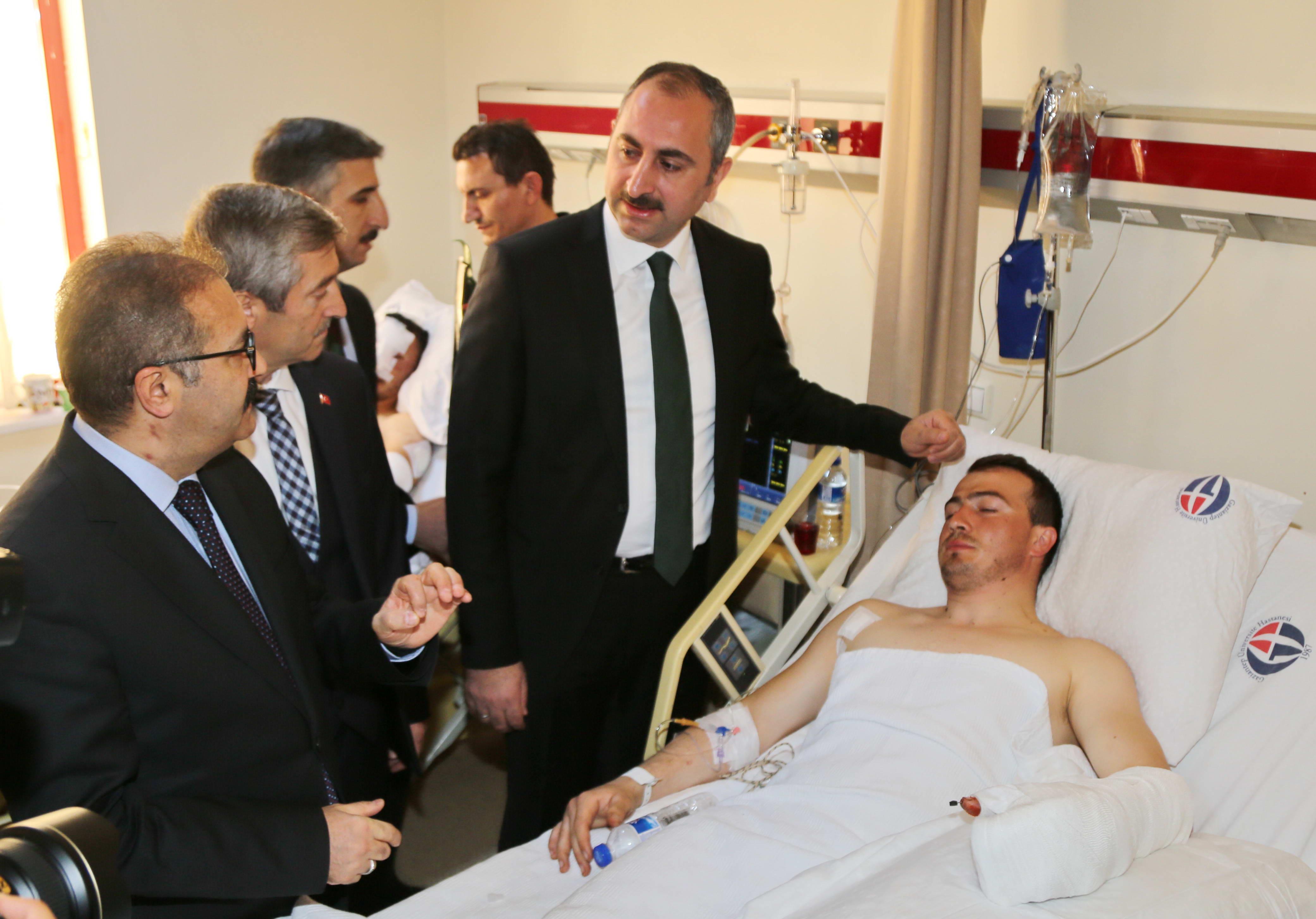 Bakan Gül'den Afrin Gazilerine ziyaret -  (6)