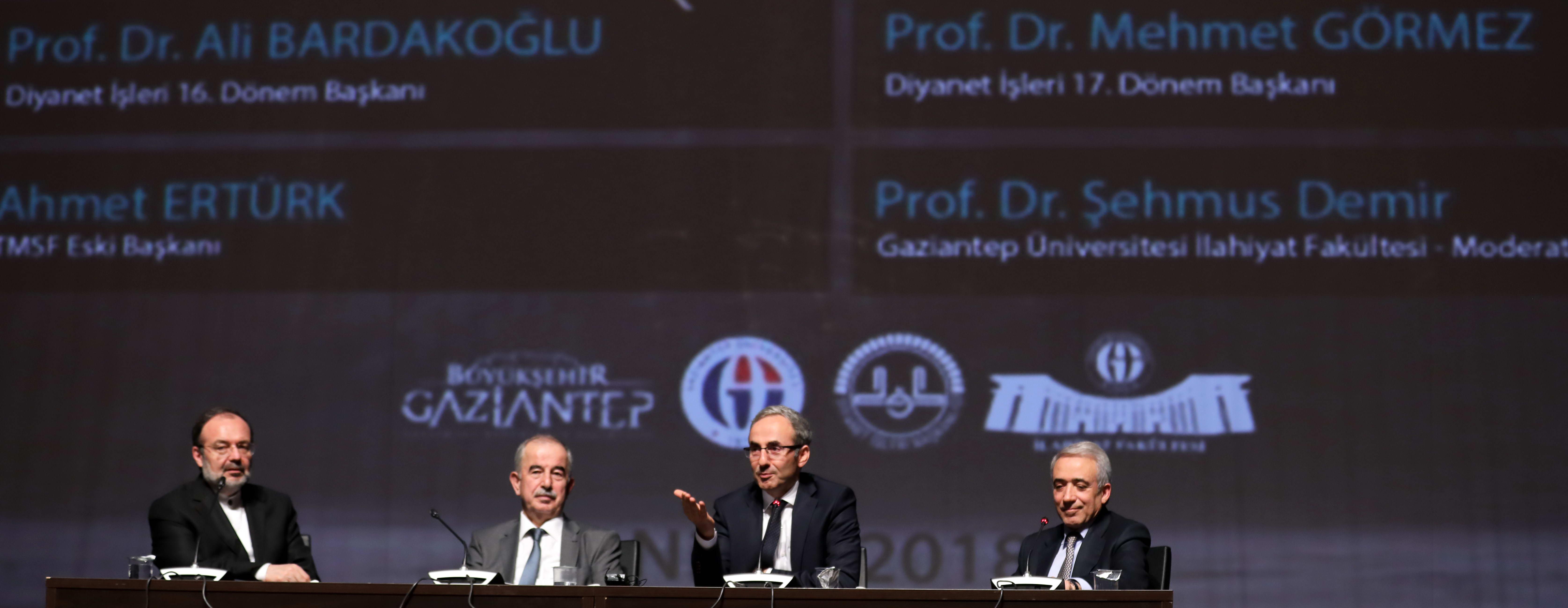 """GAÜN'de """"Günümüz Türkiye'sinde İslam ve Müslümanlık"""" konulu İlmi Toplantı -  (1)"""