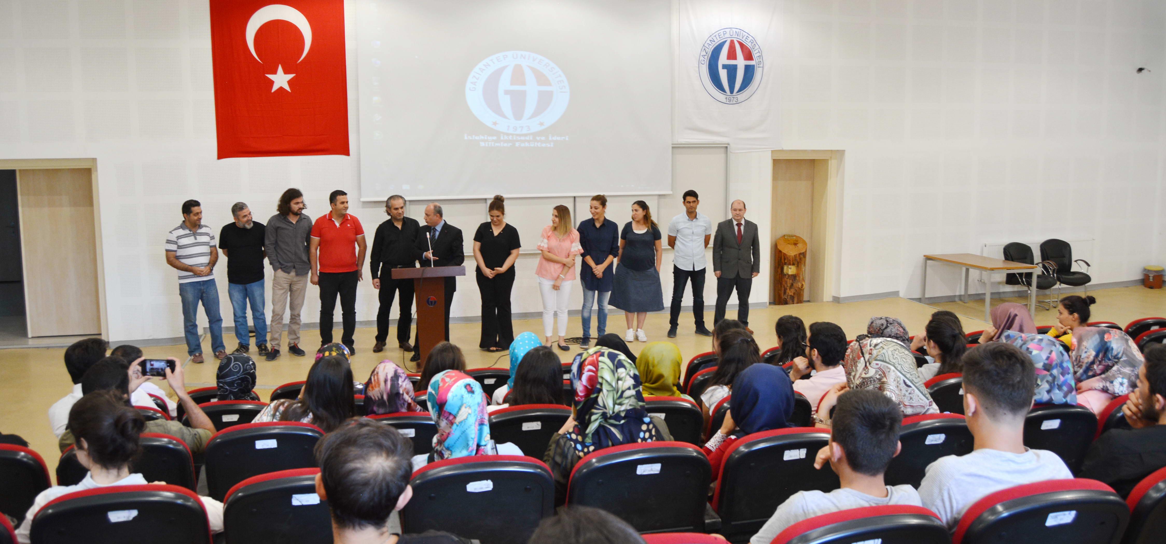 islahiye İİBF'de Oryantasyon Eğitimi -  (1)