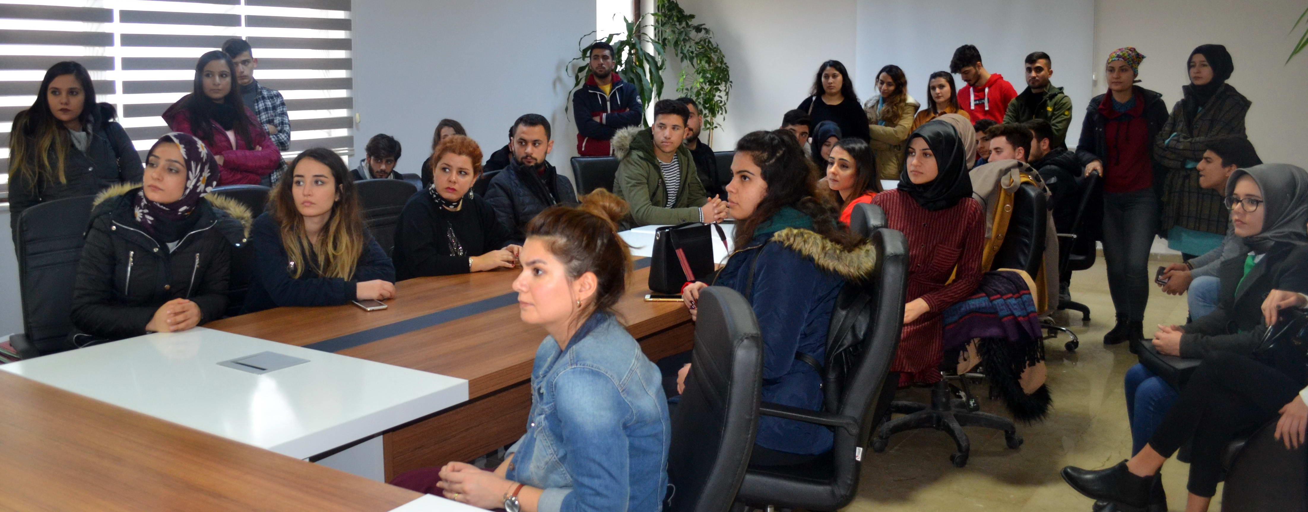 Oğuzeli MYO Lojistik Programı Öğrencilerinin Gaziantep Gümrük Müdürlüğüne Teknik Gezisi -  (2)